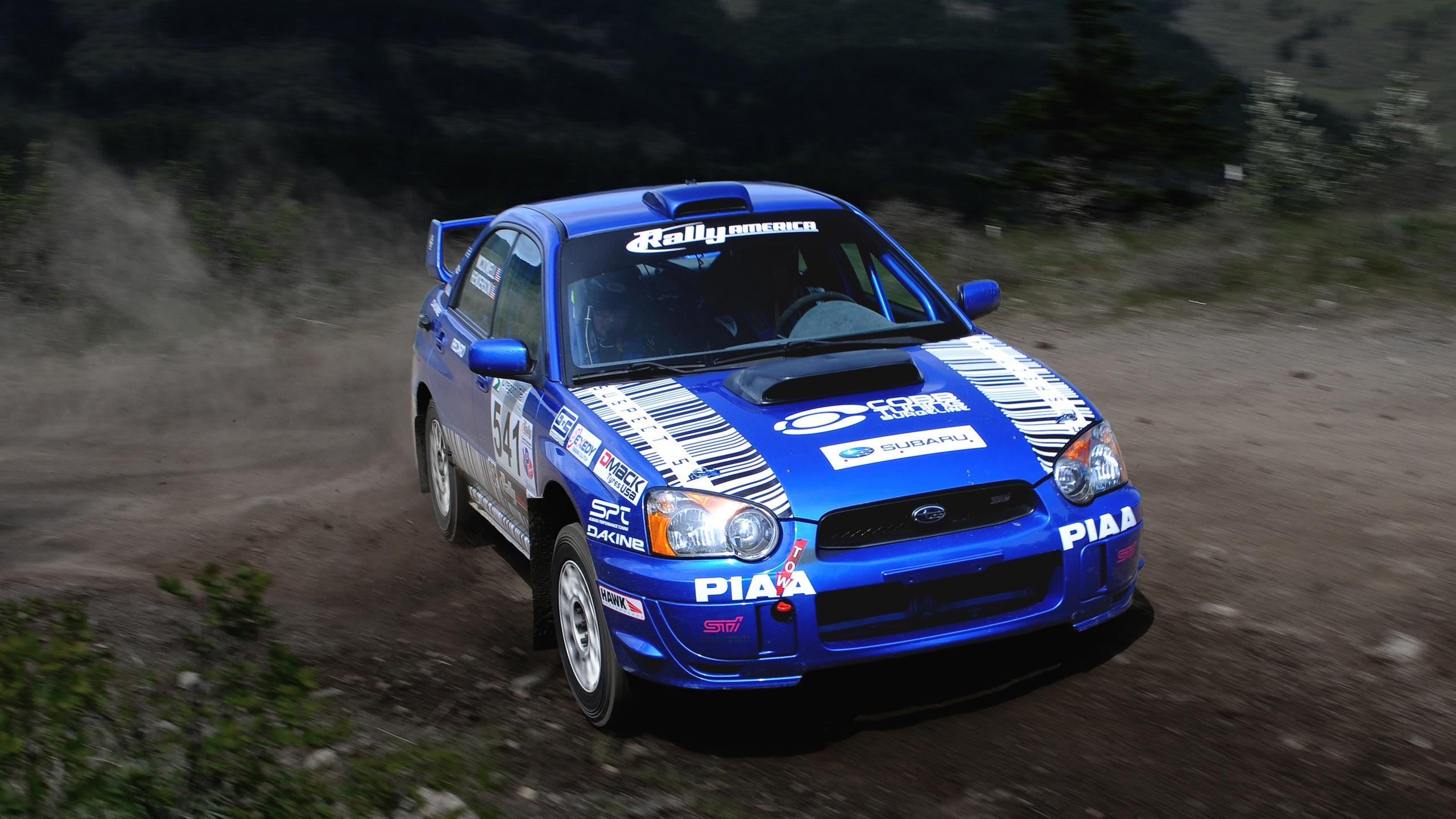 Subaru Impreza Blue Rally Sport Car 750x1334 Iphone 8766s