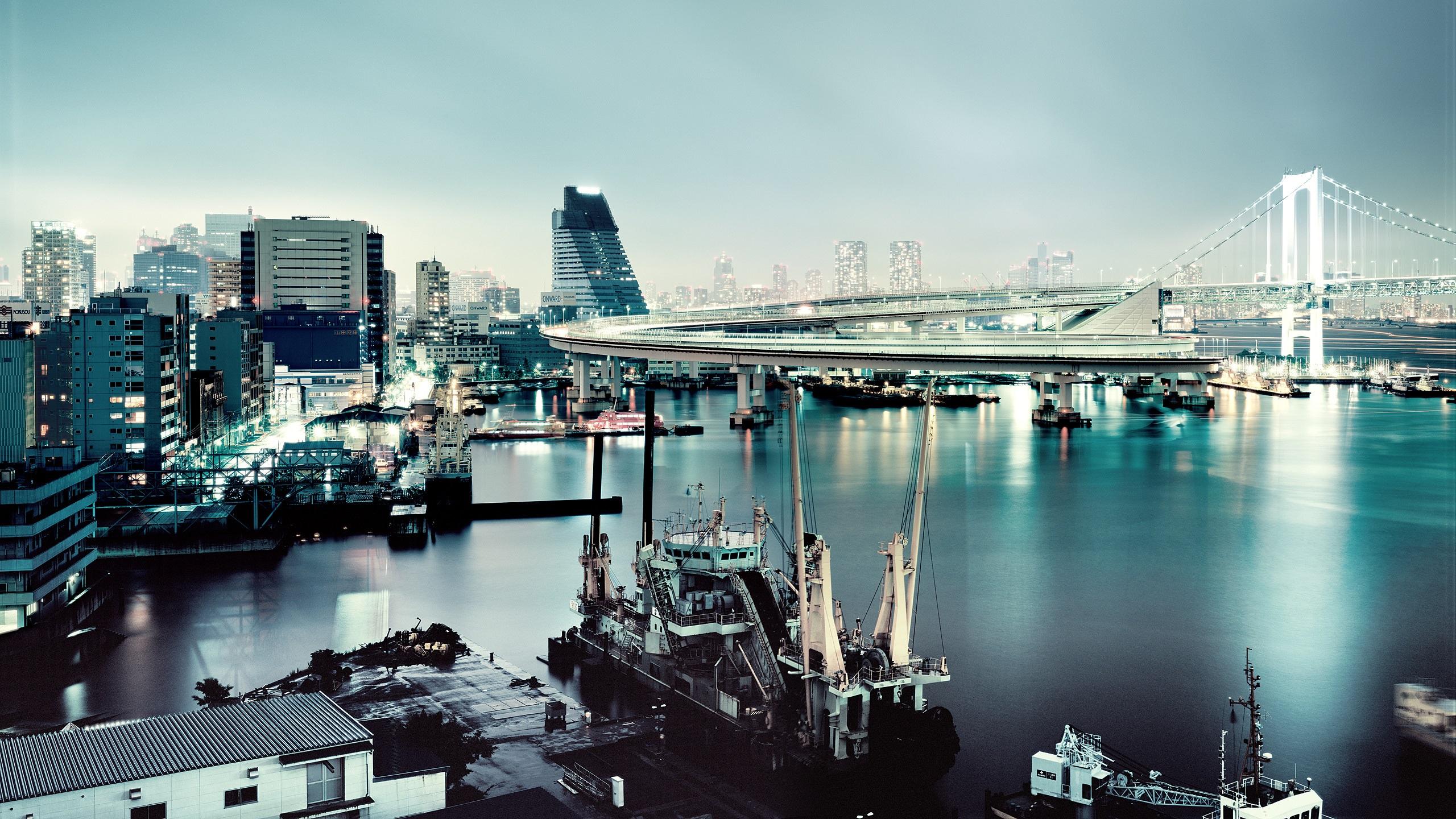 japan tokyo skyscrapers bridge - photo #23