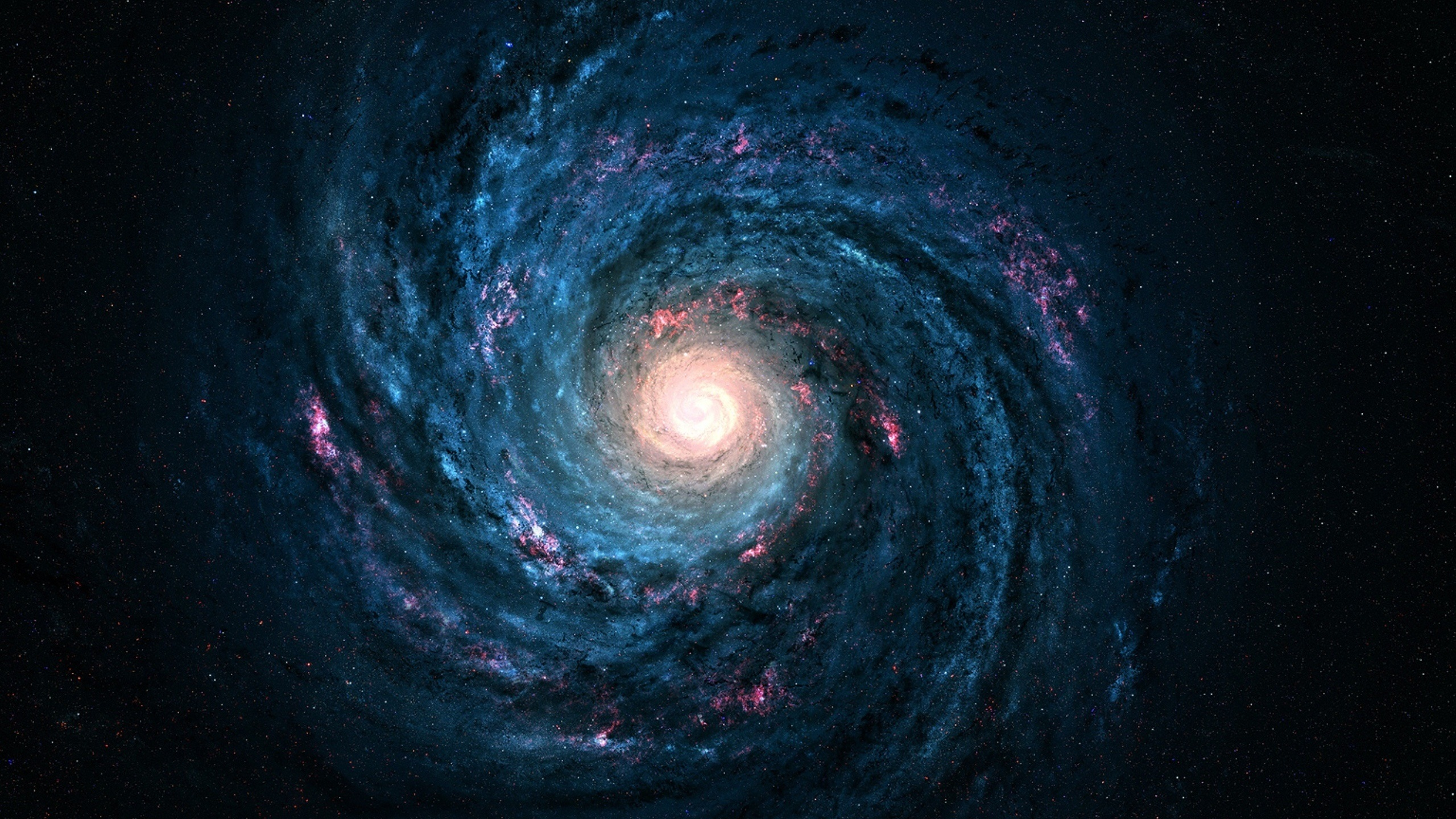Voie lact e galaxie toiles l 39 ternit bel espace for Fond ecran qhd