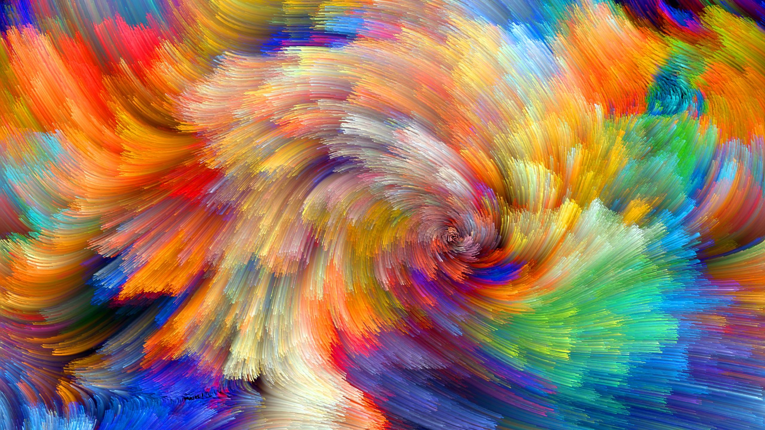 Regenbogen Muster Bunte Linien Abstrakte Bilder
