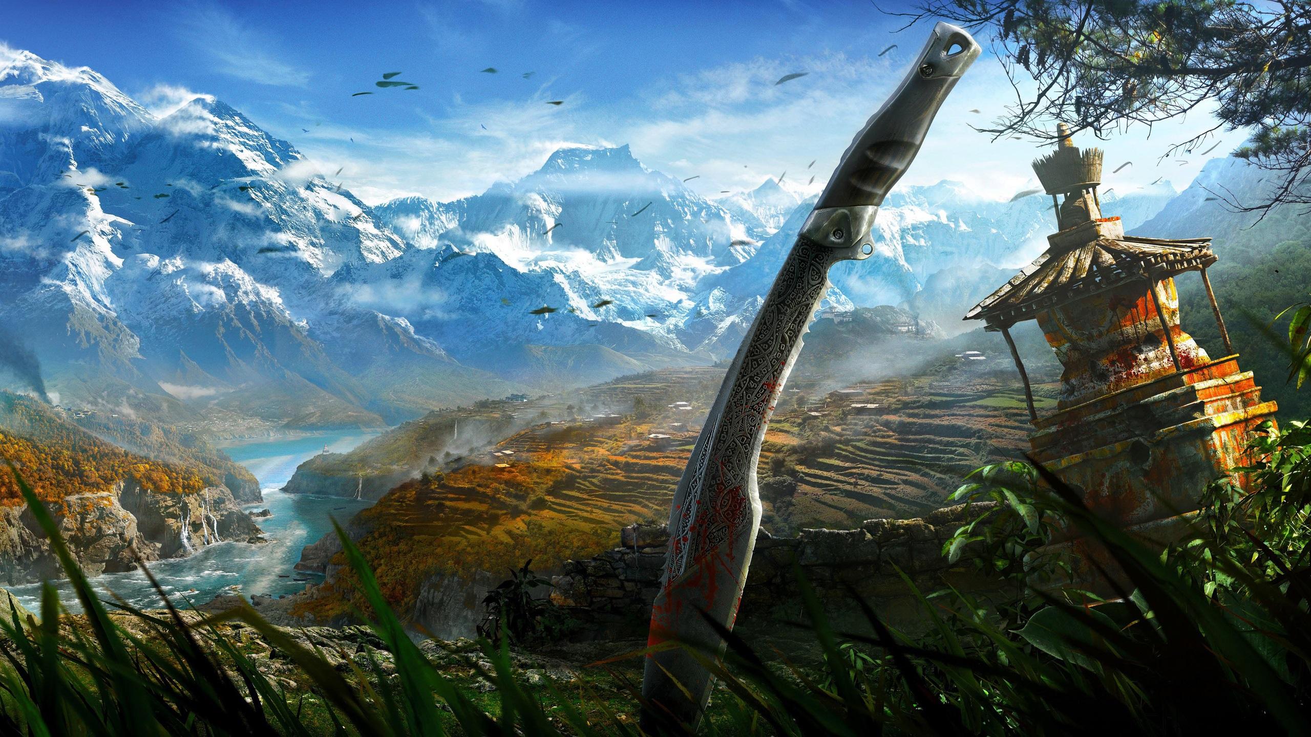 Wallpaper Far Cry 4 Hd 2560x1440 Qhd Picture Image