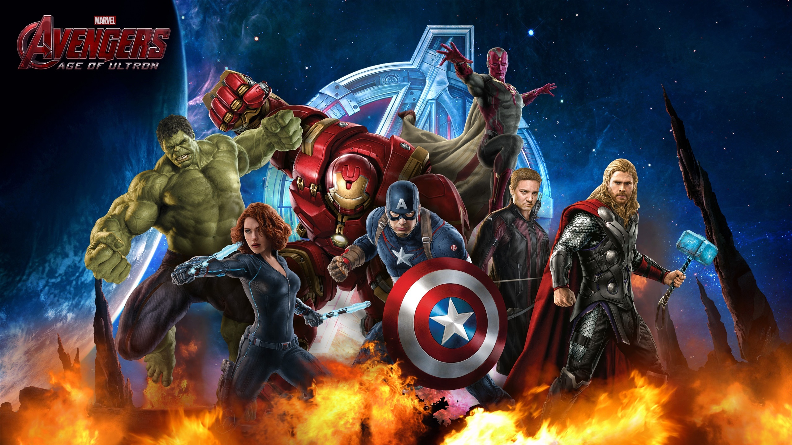 Wallpaper Avengers Age Of Ultron Hd 2560x1440 Qhd Picture Image
