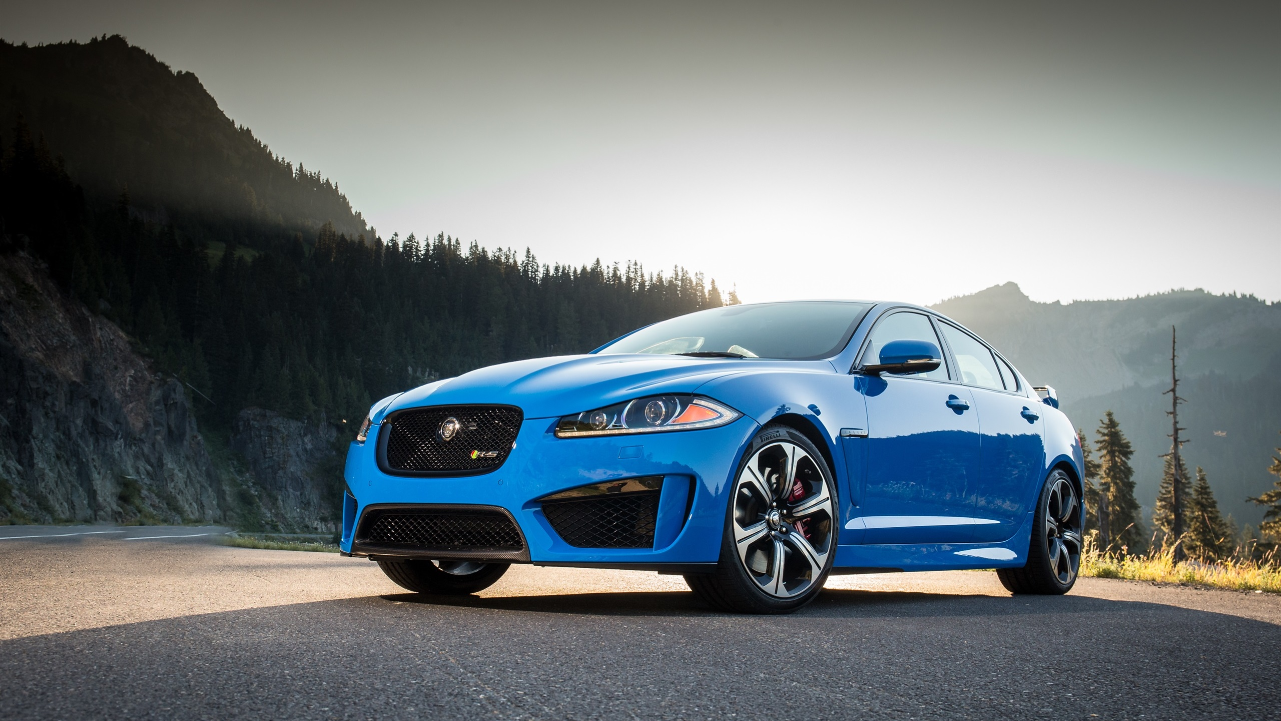 Jaguar cars blue - photo#27