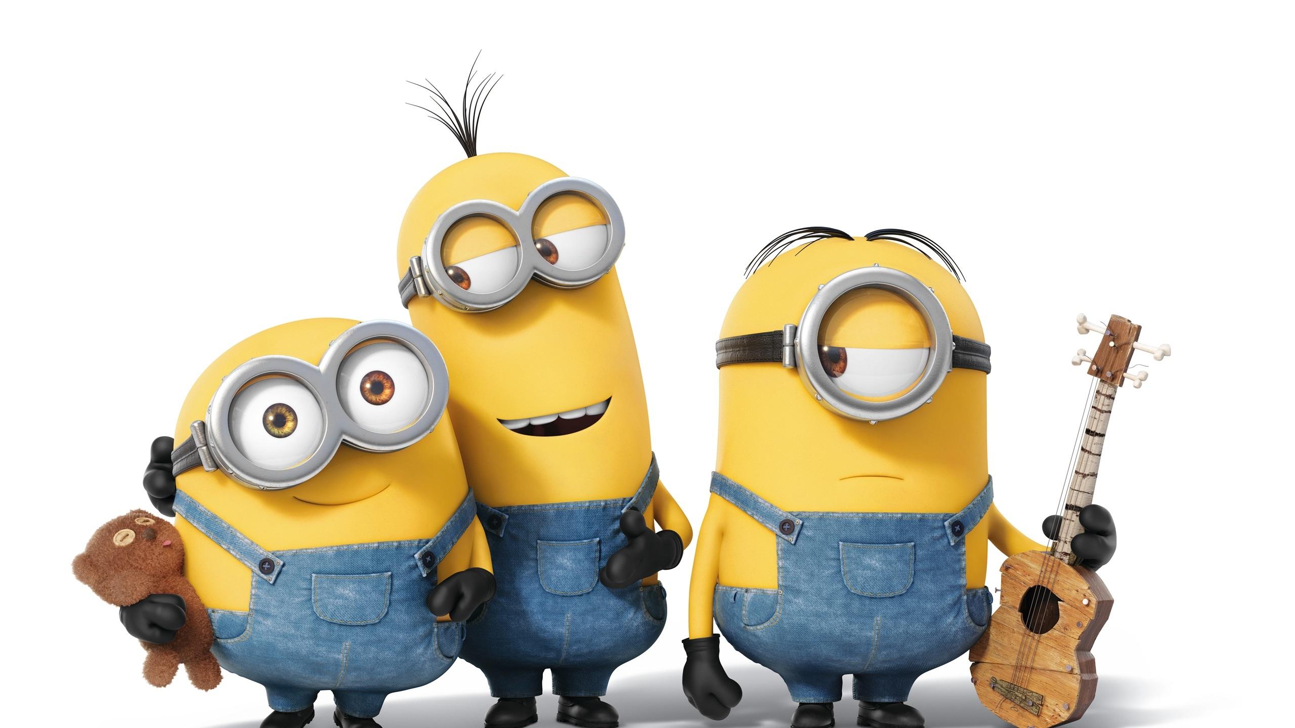 壁紙 ミニオン漫画映画 三つの小さな黄色人 2560x1600 Hd 無料の