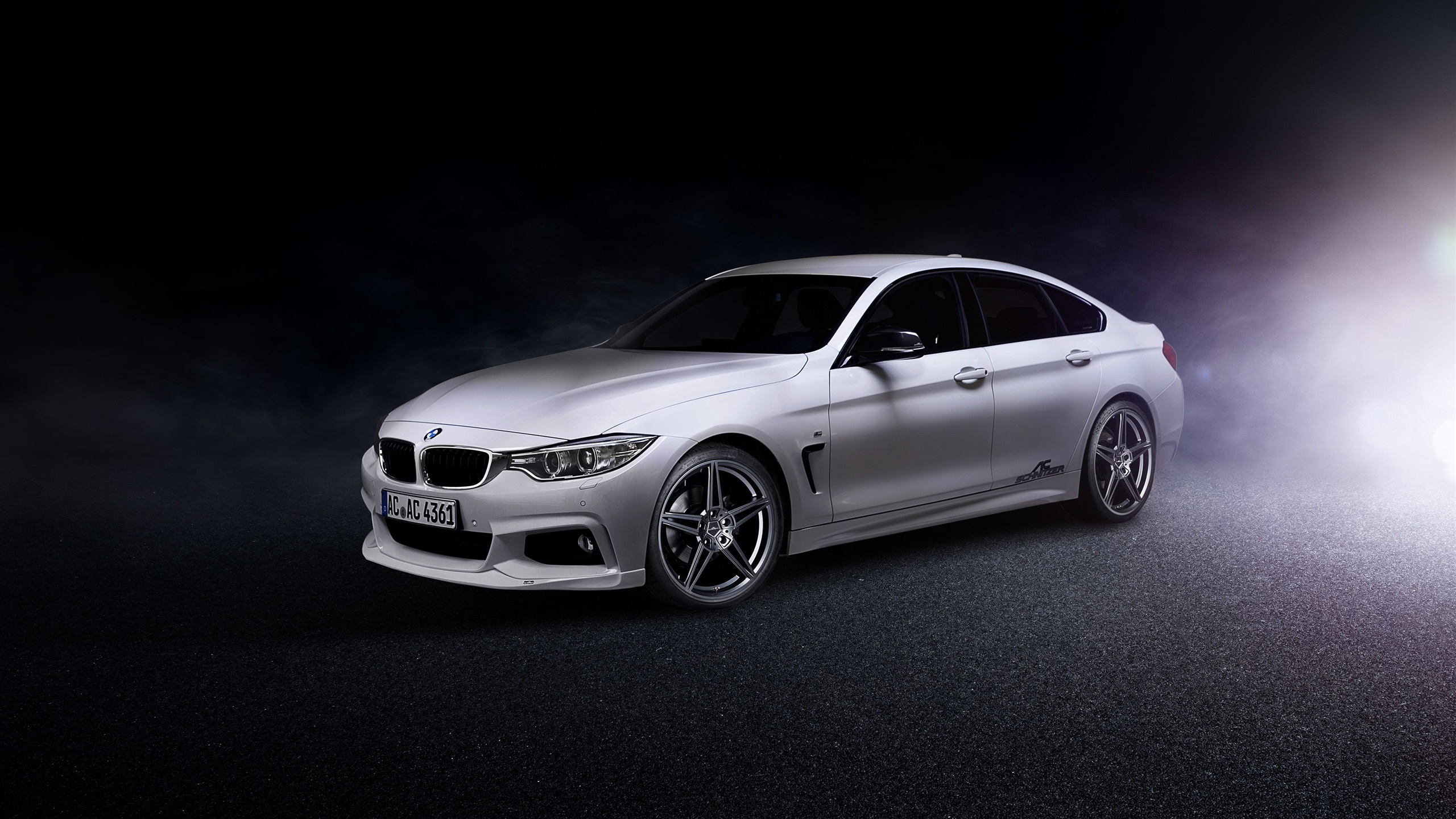 Wallpaper 2014 Bmw 4 Series Gran Coupe F36 White Car 2560x1600 Hd Picture Image