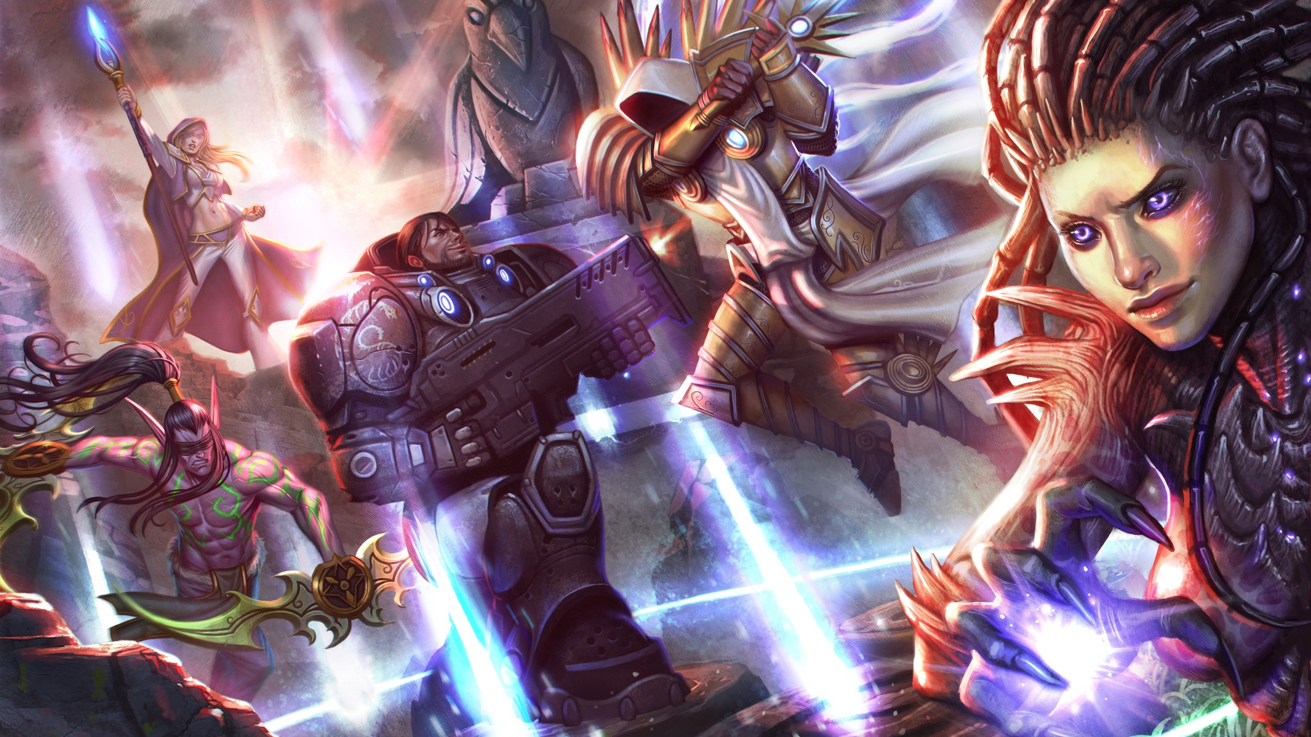 Wallpaper Heroes Of The Storm 2560x1440 QHD Picture Image