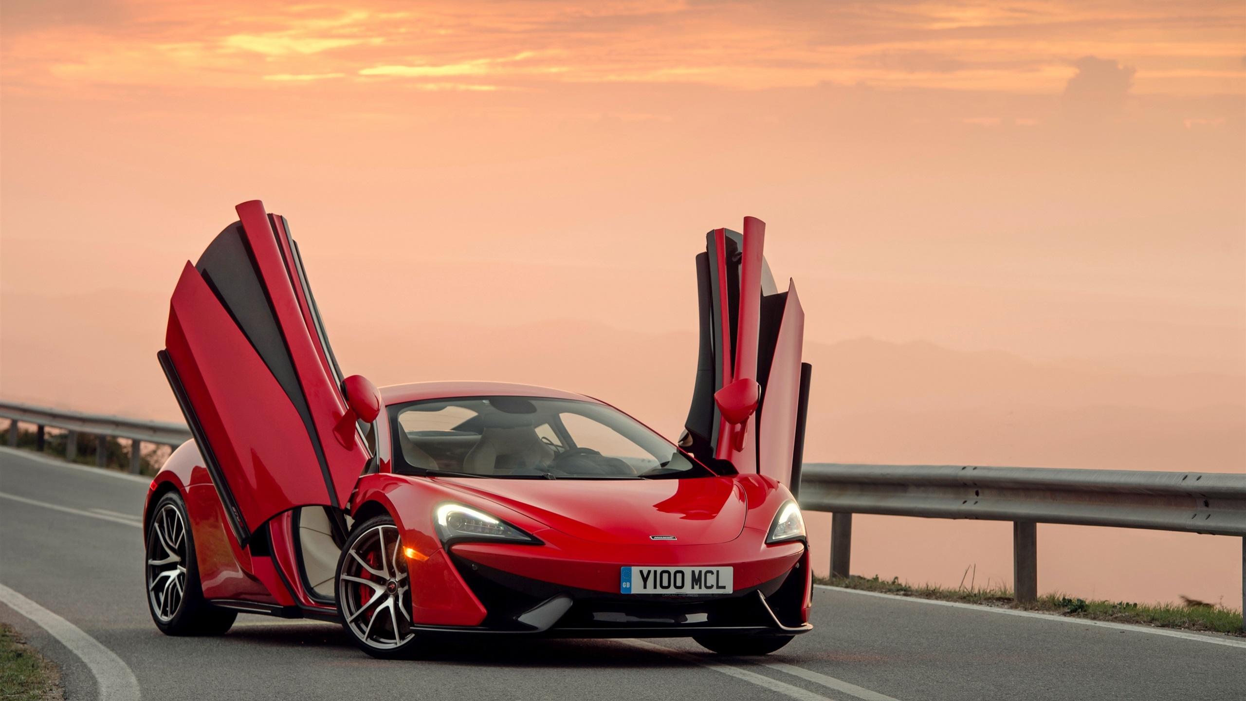 Fonds d 39 cran t l charger 2560x1440 mclaren 570s supercar for Fond ecran qhd