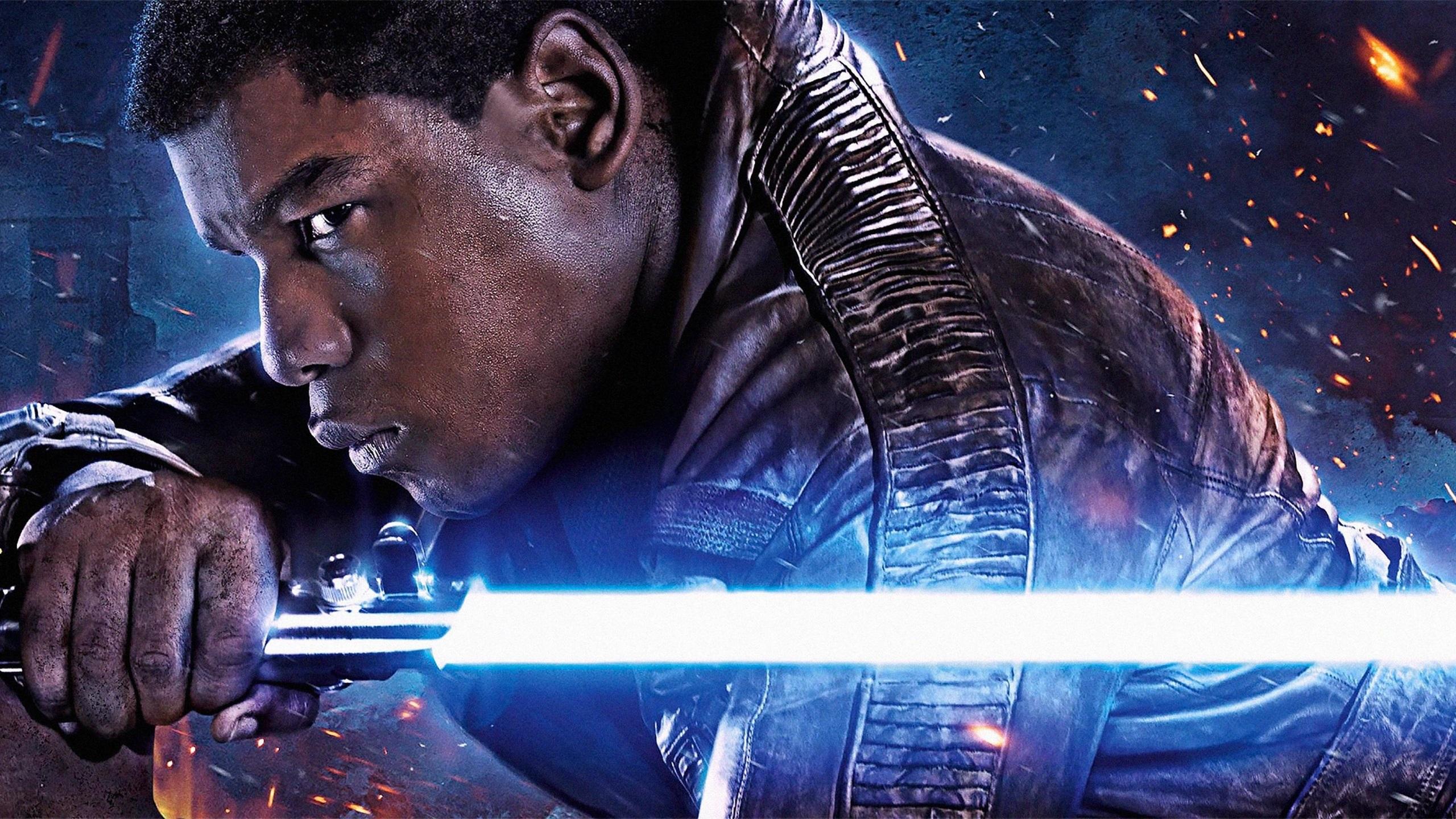 Wallpaper John Boyega Star Wars Episode Vii The Force