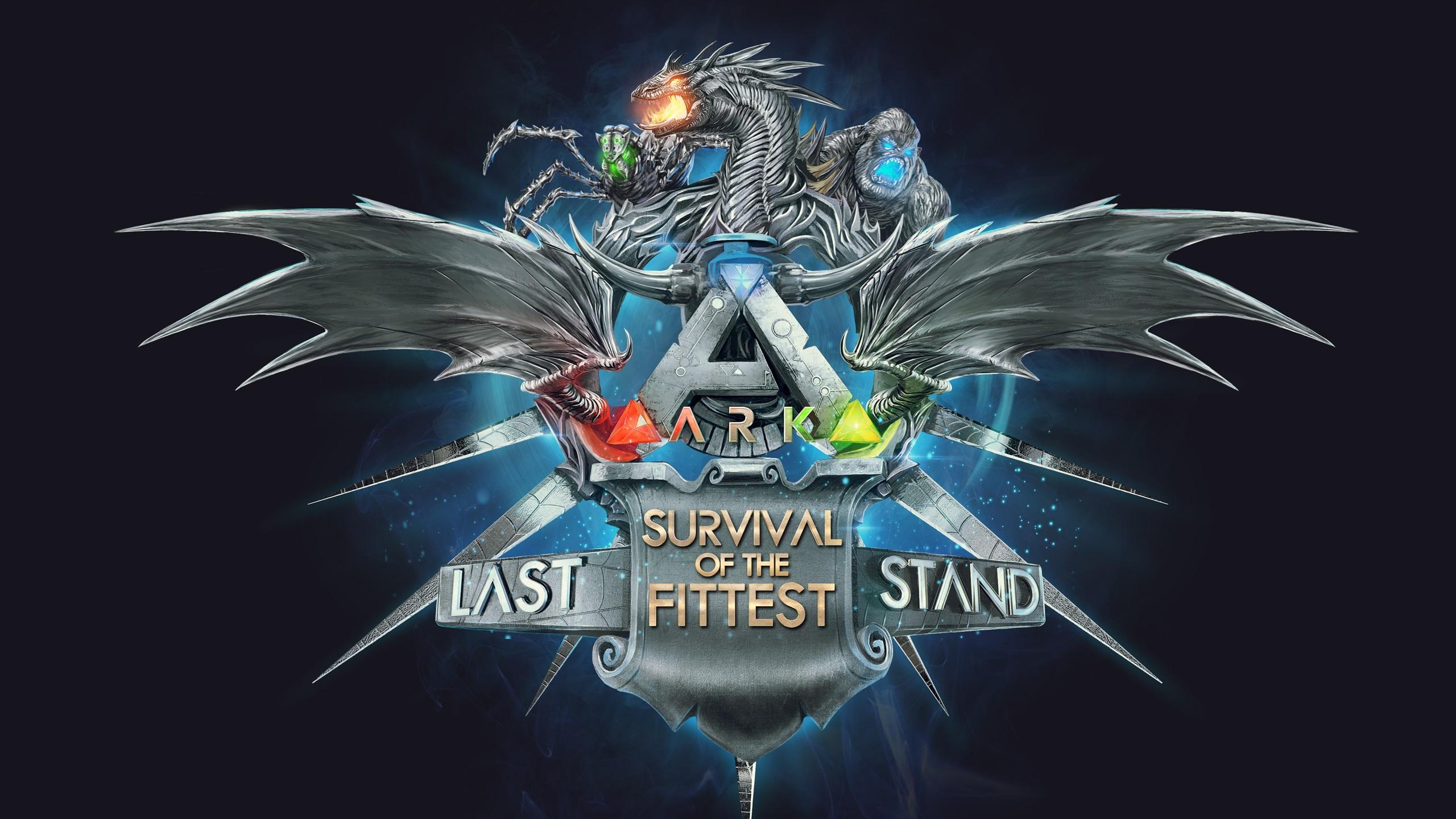 Ark survival of the fittest fonds d 39 cran 2560x1440 qhd for Fond ecran qhd