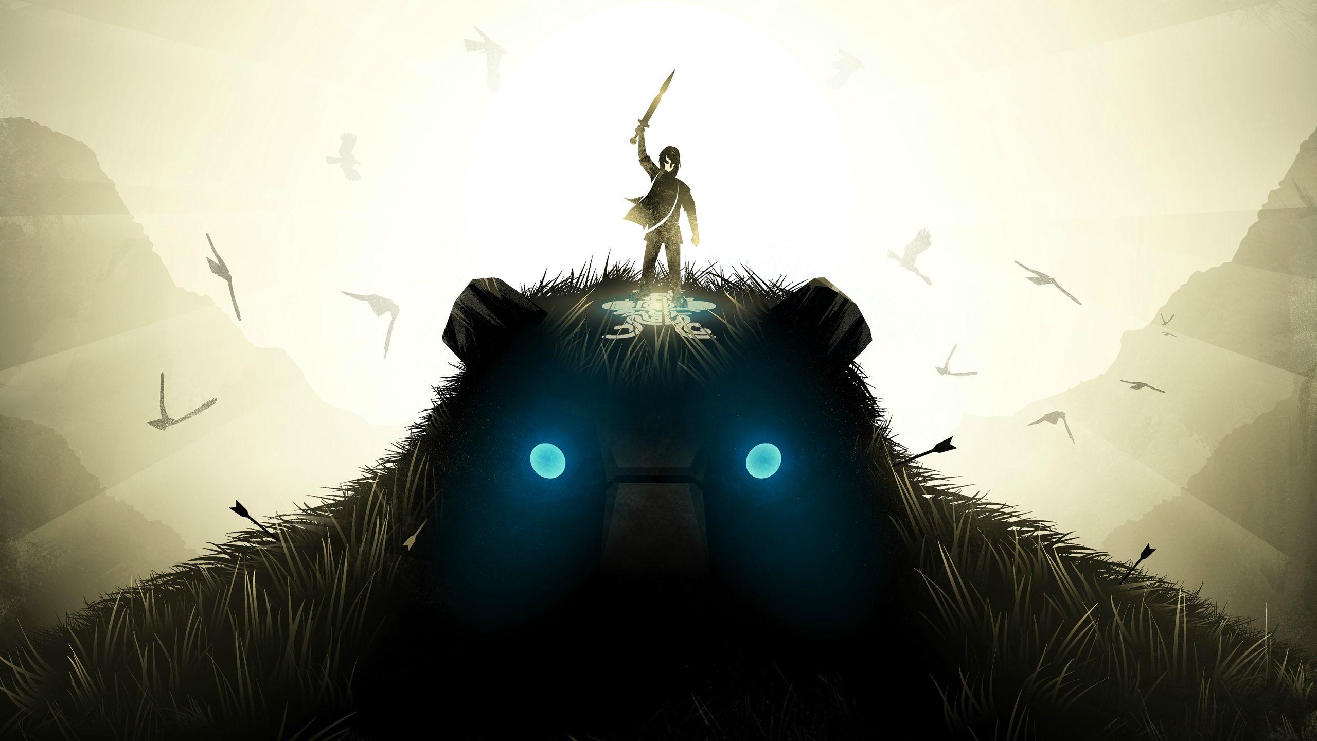 Wallpaper Shadow of the Colossus, PC game 2560x1440 QHD