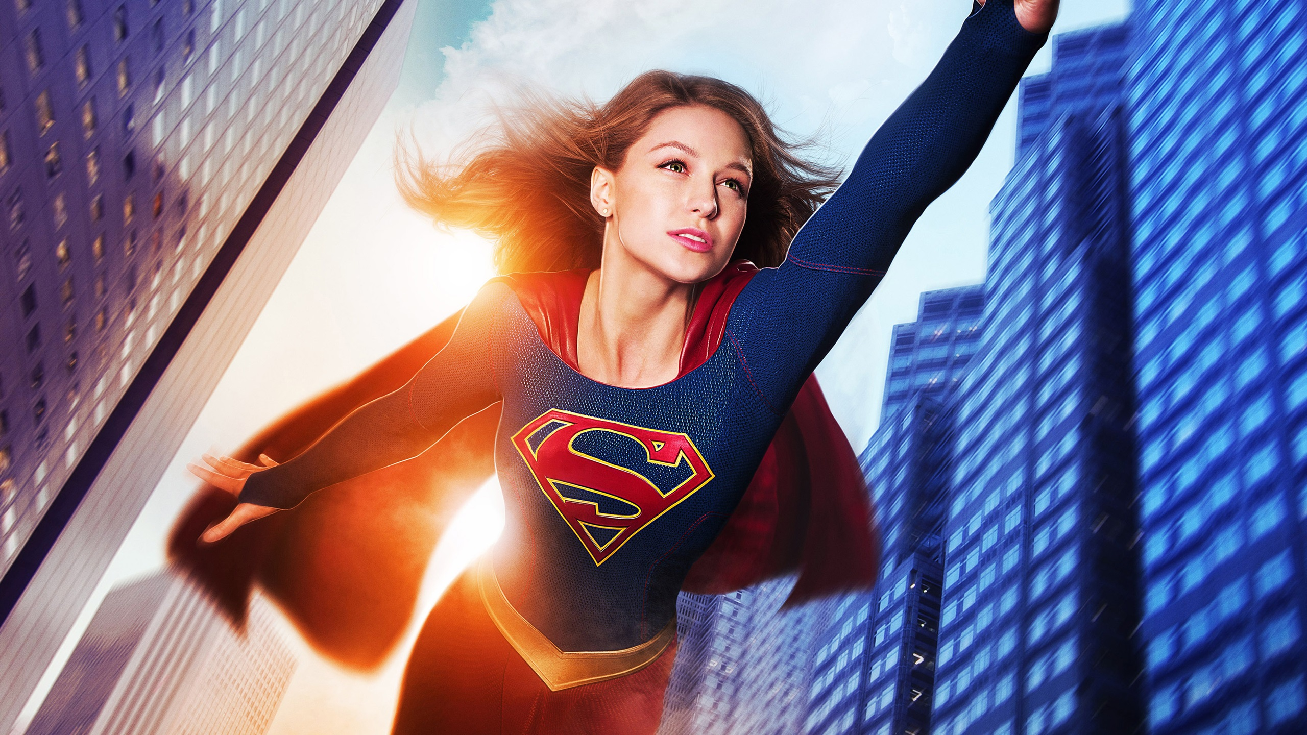 Supergirl, Melissa Benoist Wallpaper | 2560x1440 QHD resolution ...: best-wallpaper.net/Supergirl-Melissa-Benoist_2560x1440.html
