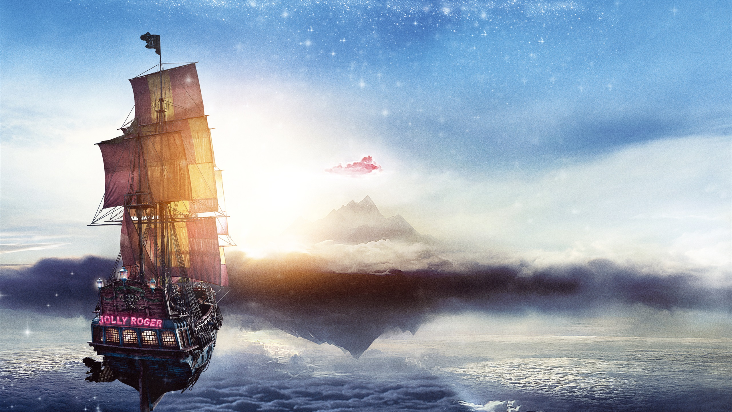 Peter Pan Journey To Neverland 750x1334 Iphone 8 7 6 6s