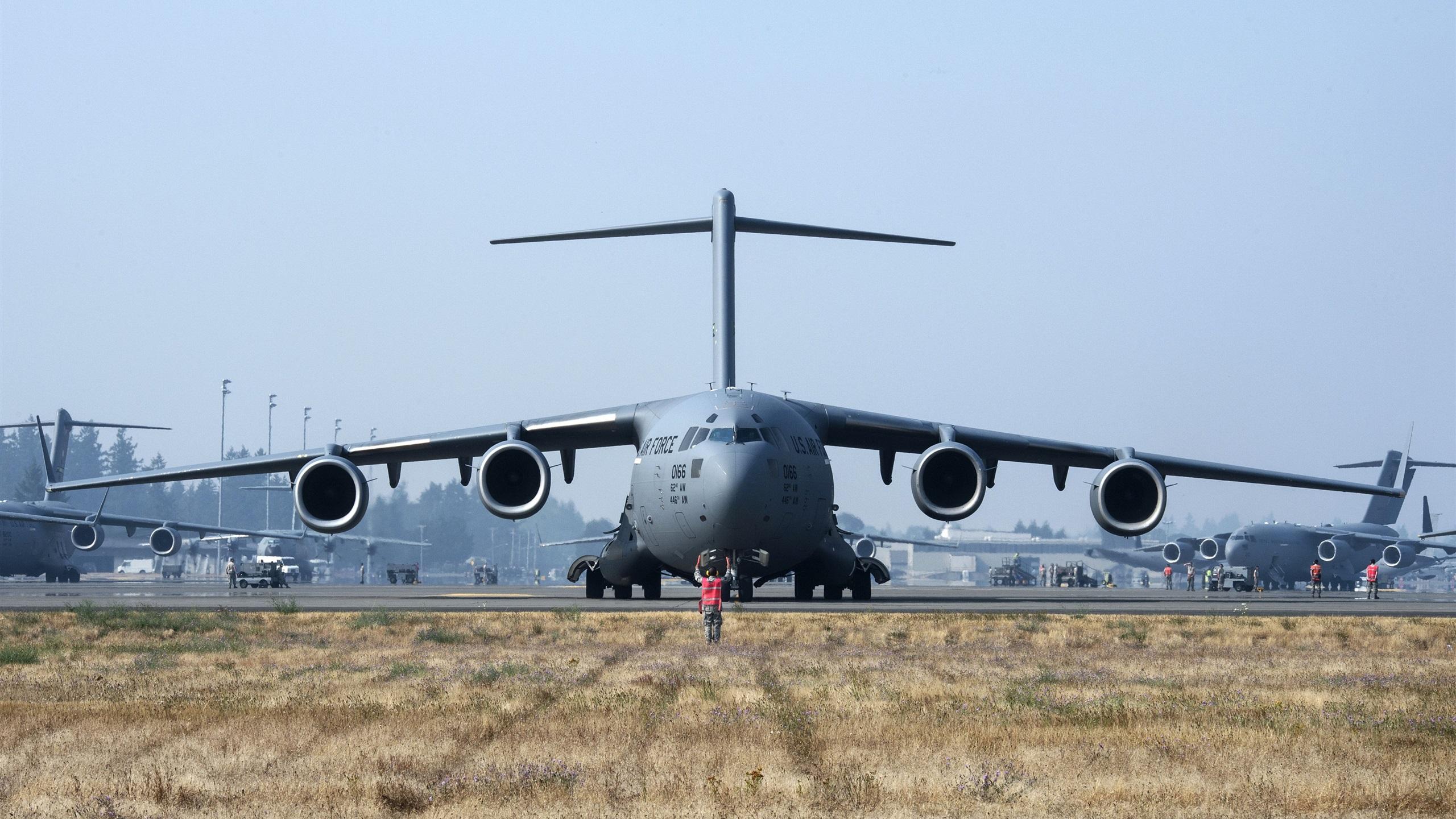 Обои самолеты, c-17 globemaster. Авиация foto 12