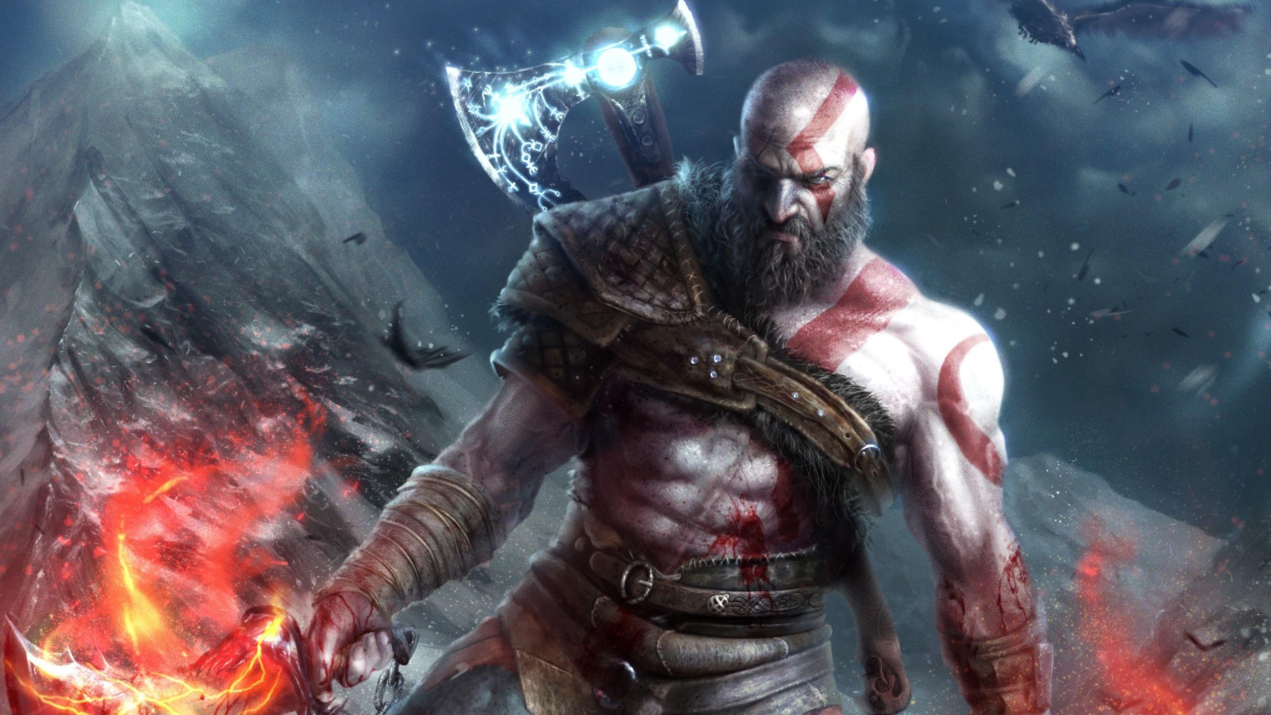 God Of War 4 Videospiele 2560x1600 Hd Hintergrundbilder Hd