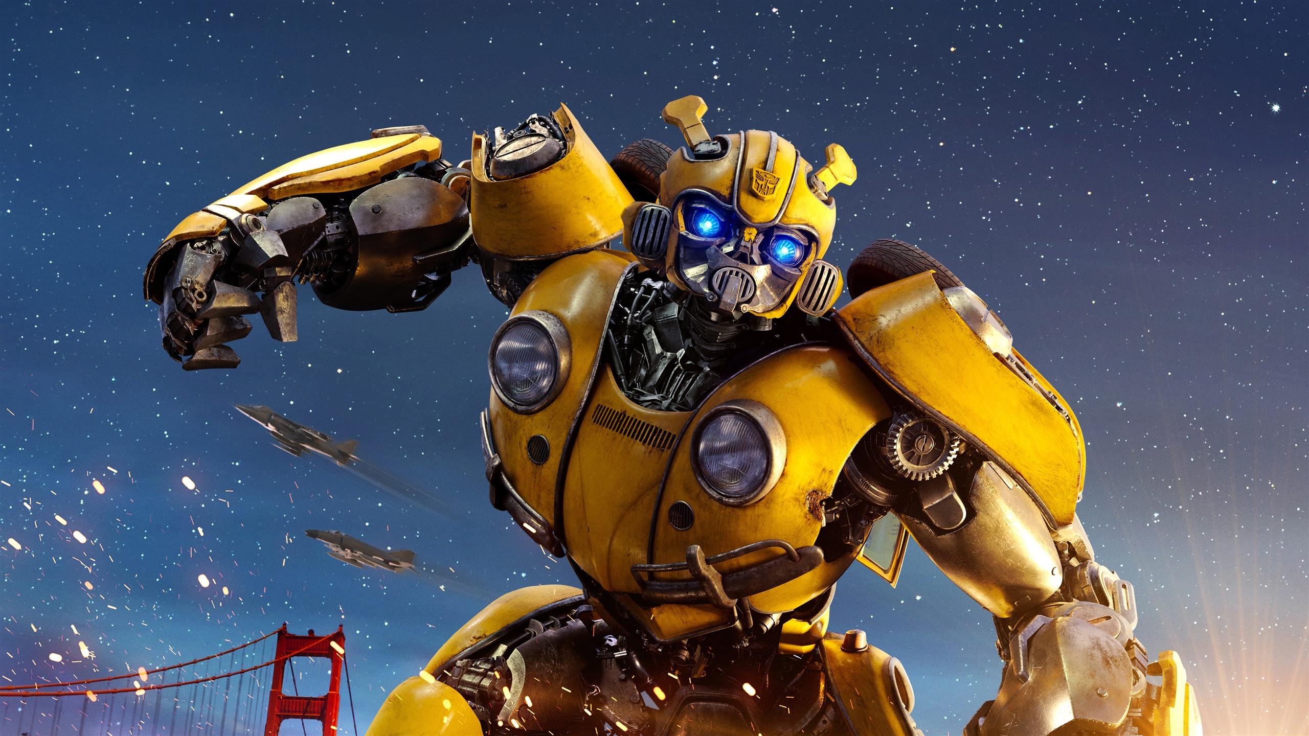Transformers Bumblebee Robot 1242x2688 Iphone Xs Max