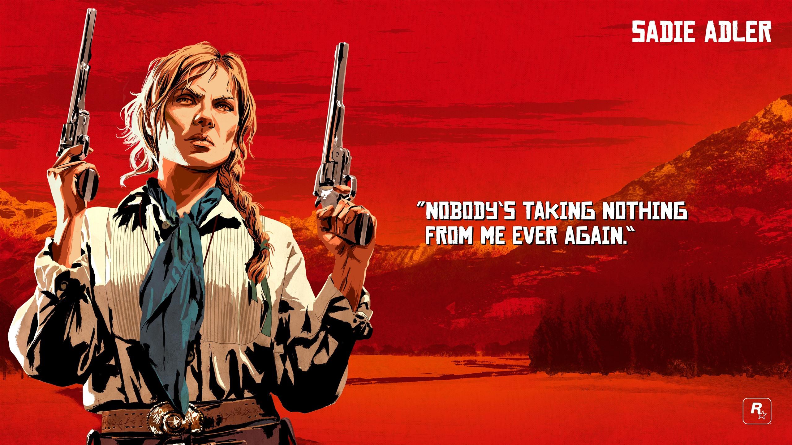 Wallpaper Red Dead Redemption 2 Guns 3840x2160 Uhd 4k Picture Image