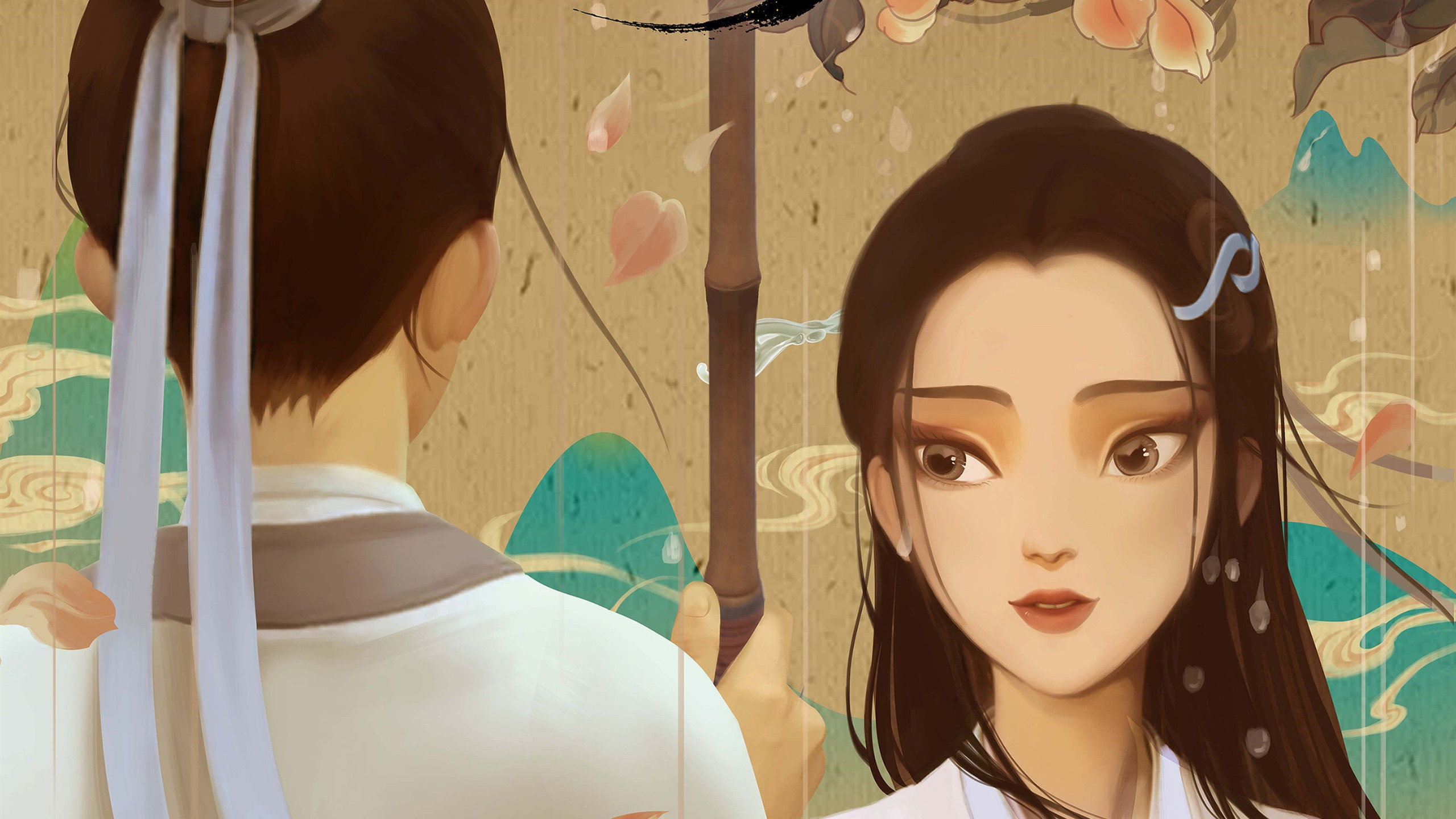 Wallpaper White Snake Cartoon Movie HD Picture Image