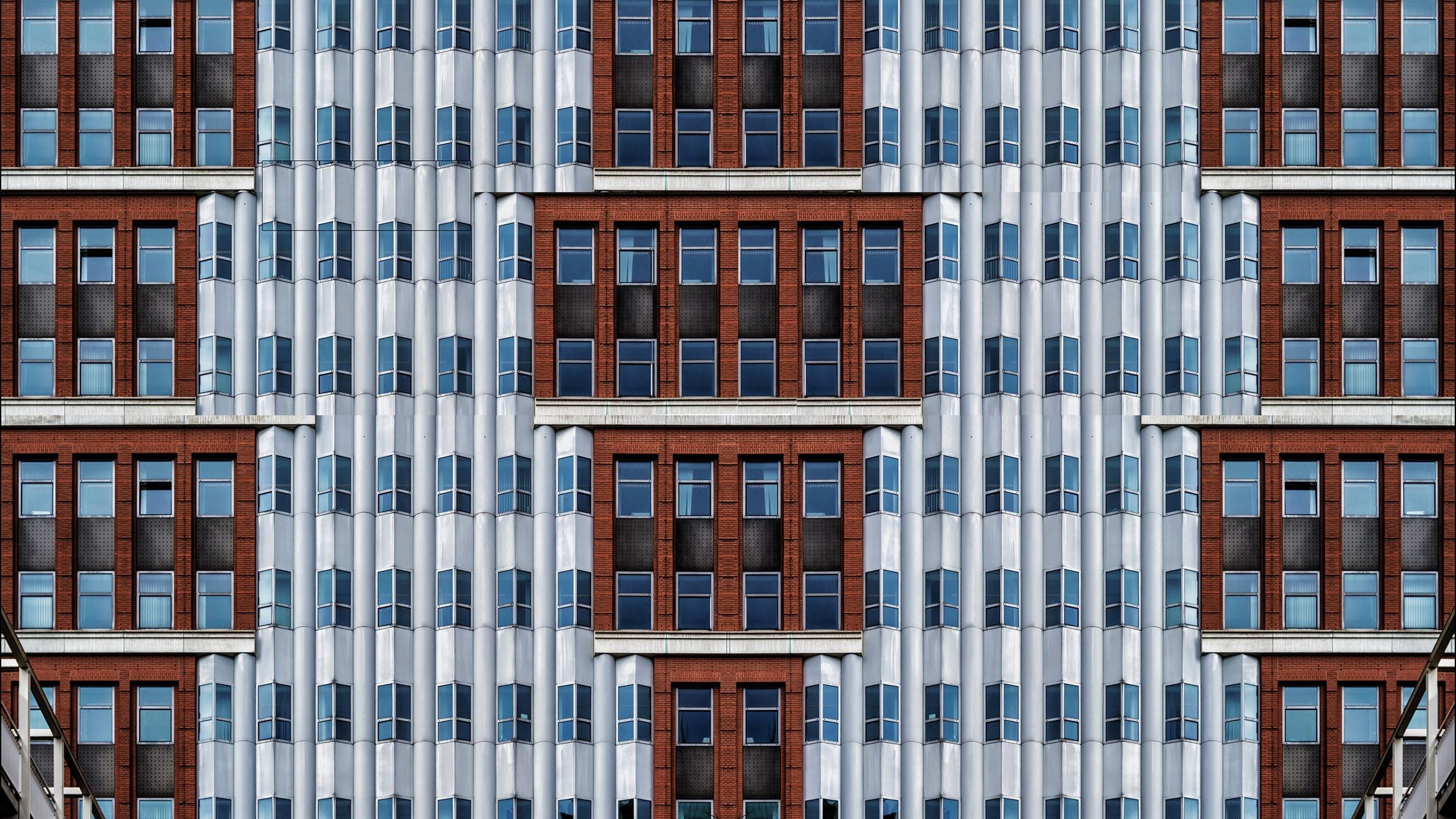 壁紙 建物 壁 多くの窓 2560x1600 Hd 無料のデスクトップの背景 画像