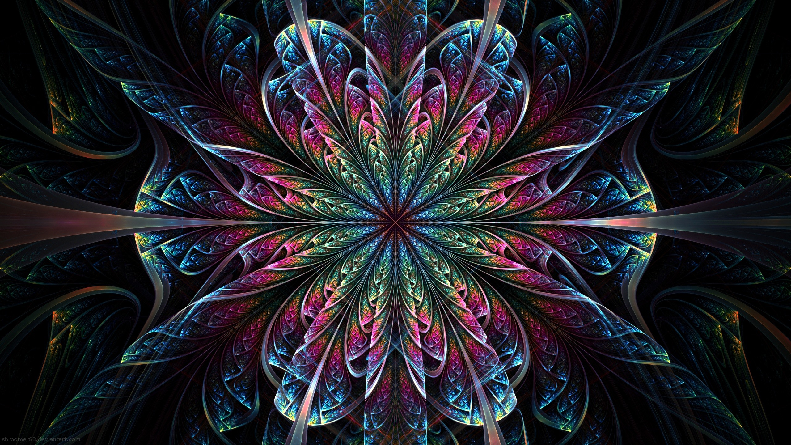 Beautiful Abstract Flower Pattern Colorful 750x1334 Iphone