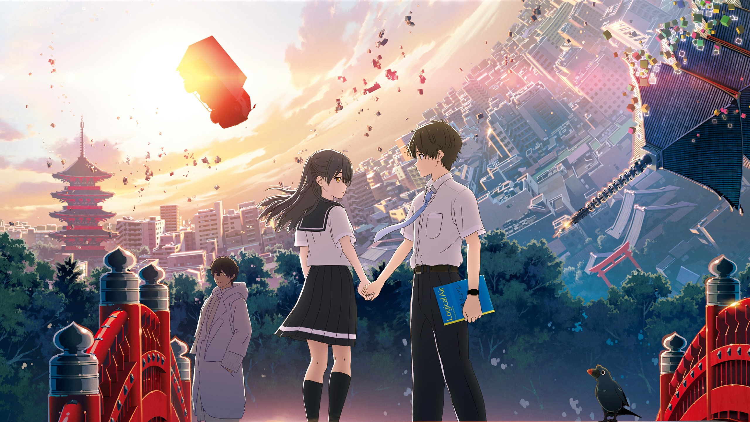 Wallpaper HELLO WORLD Anime Movie 2019 3840x2160 UHD 4K