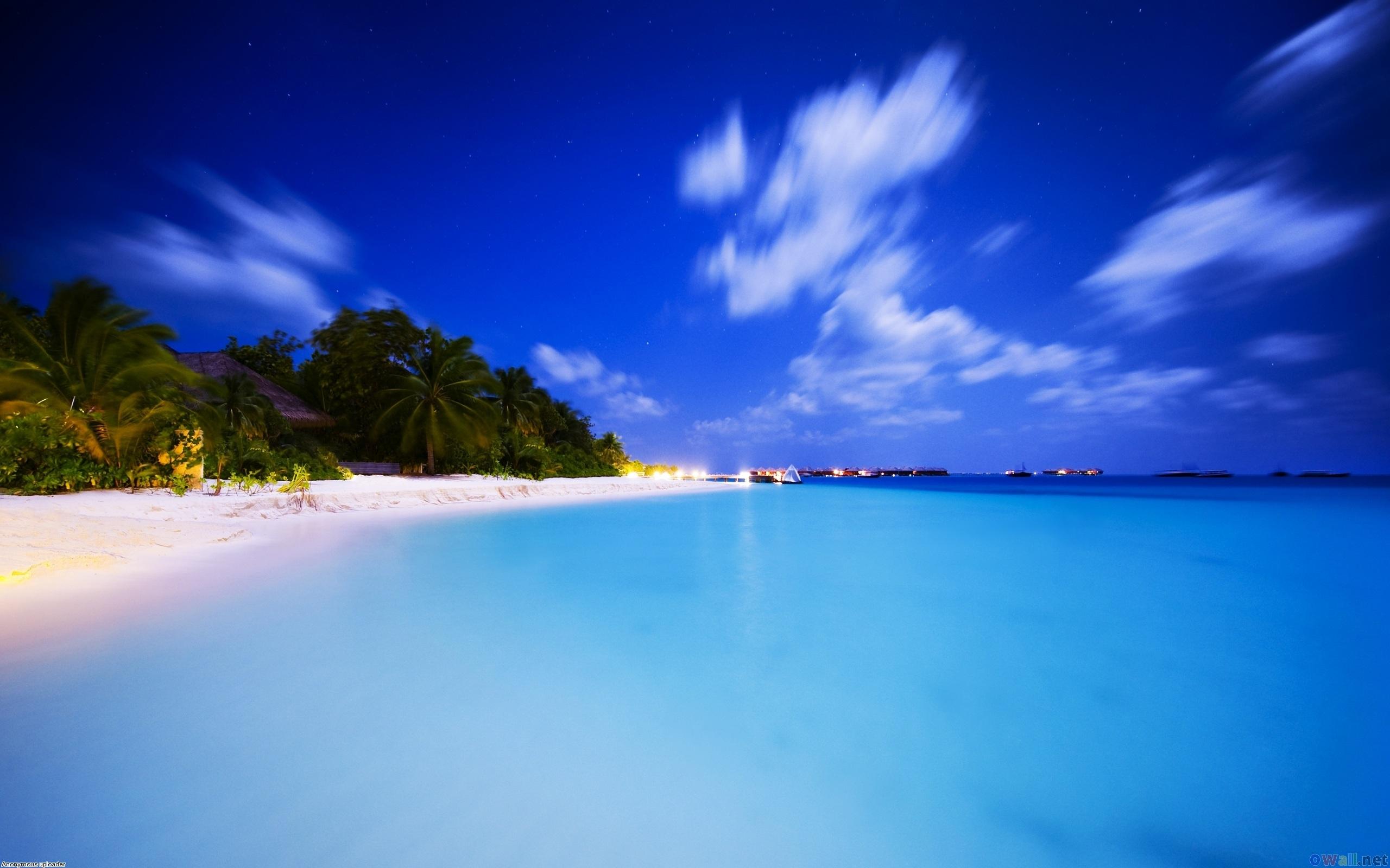 Neotropical Sommer Strand 2560x1600 HD Hintergrundbilder