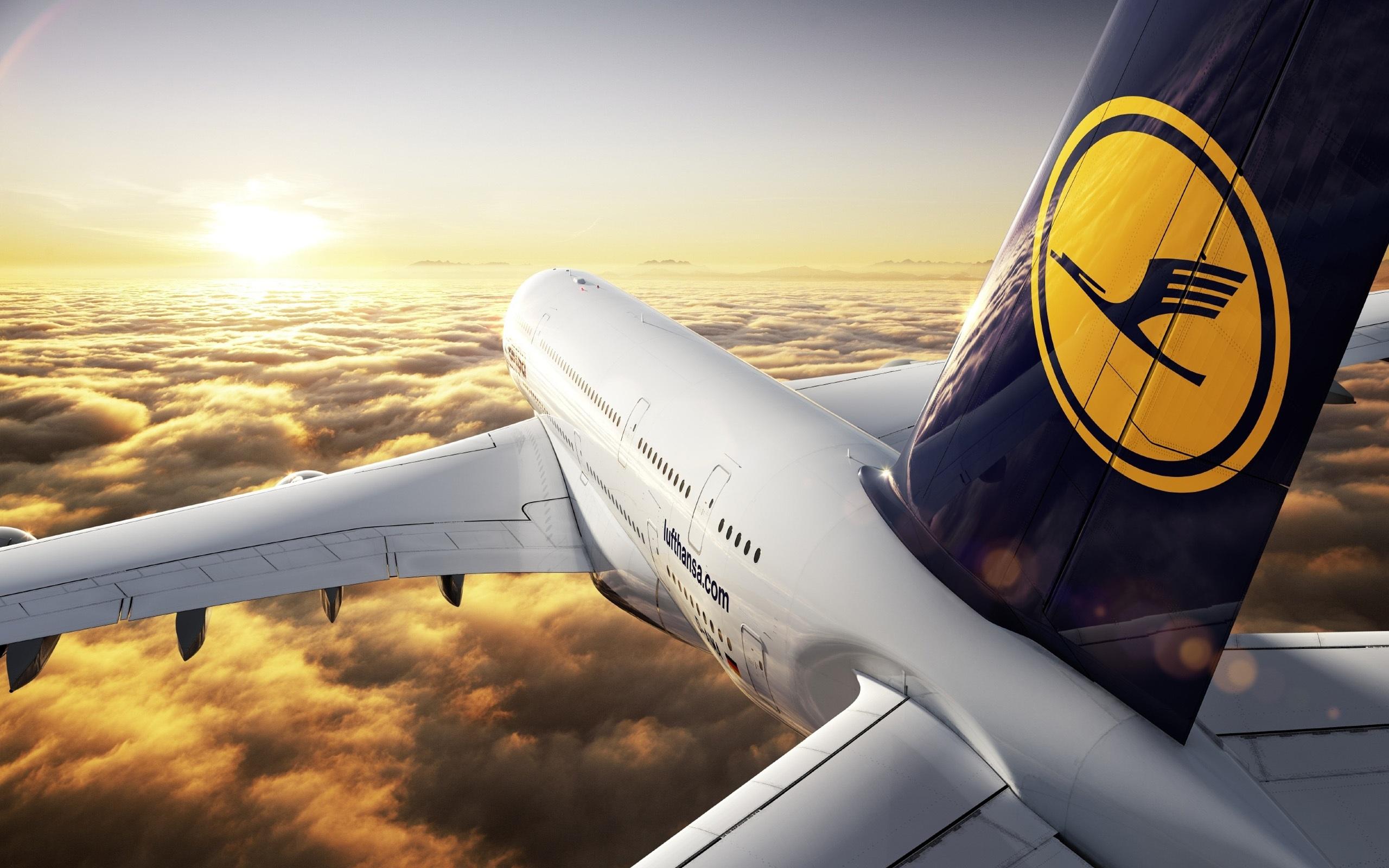 Papéis De Parede Airbus A380 2560x1600 HD Imagem