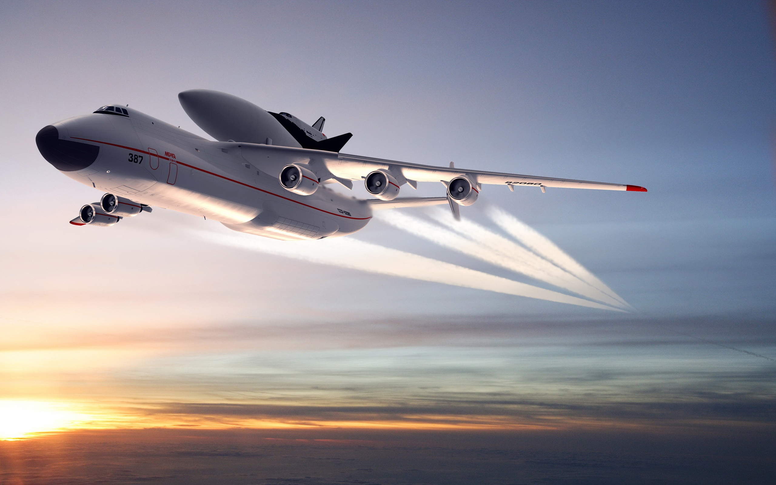 Antonov An-225 Mriya aircraft Wallpaper | 2560x1600 resolution