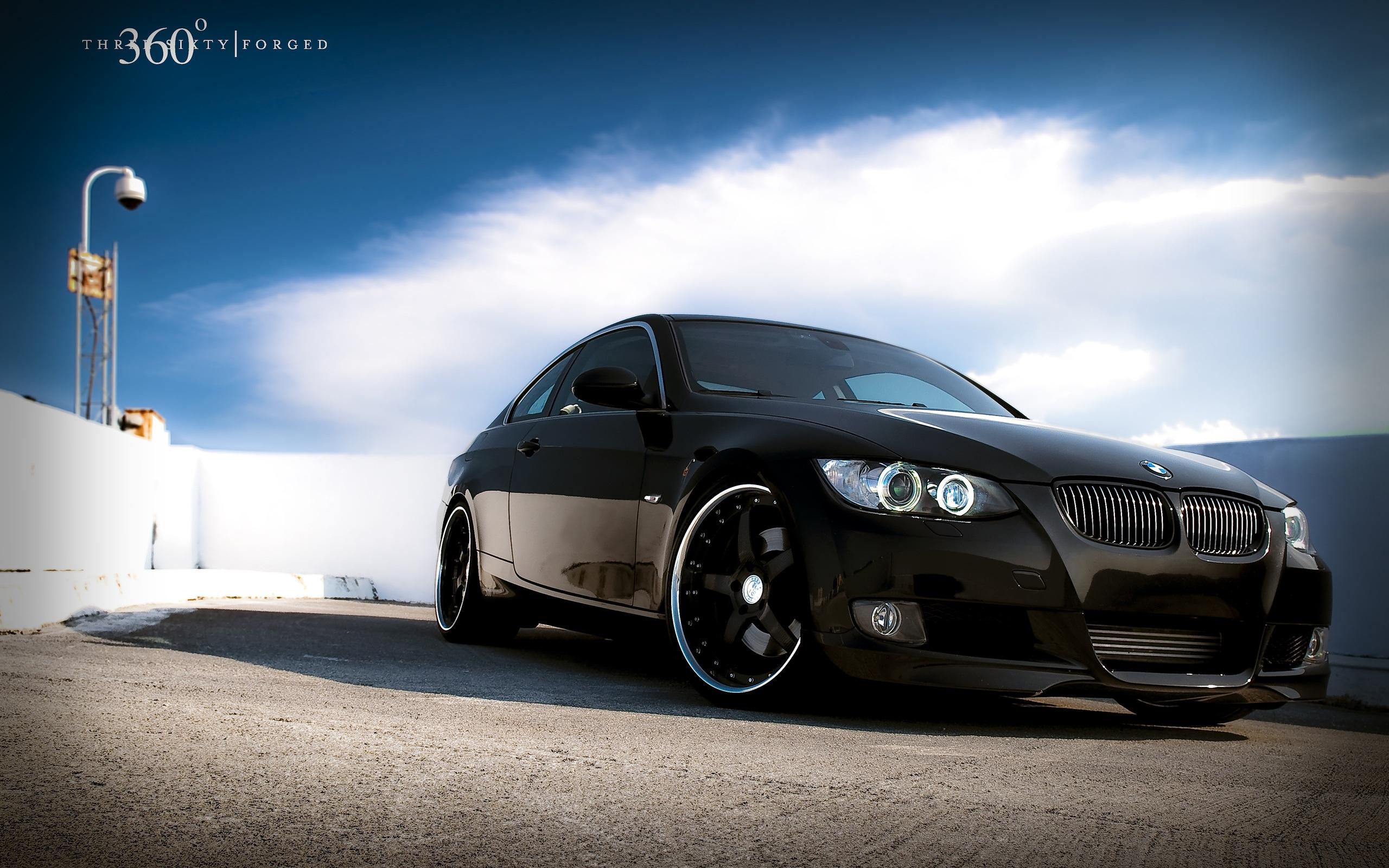Bmw Car Black Color Wallpaper 2560x1600 Resolution