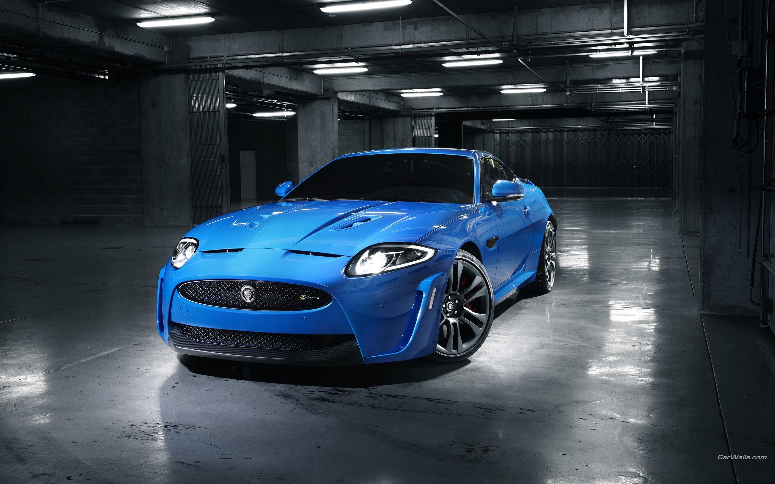 jaguar azul coche fondos de pantalla 2560x1600 fondos de
