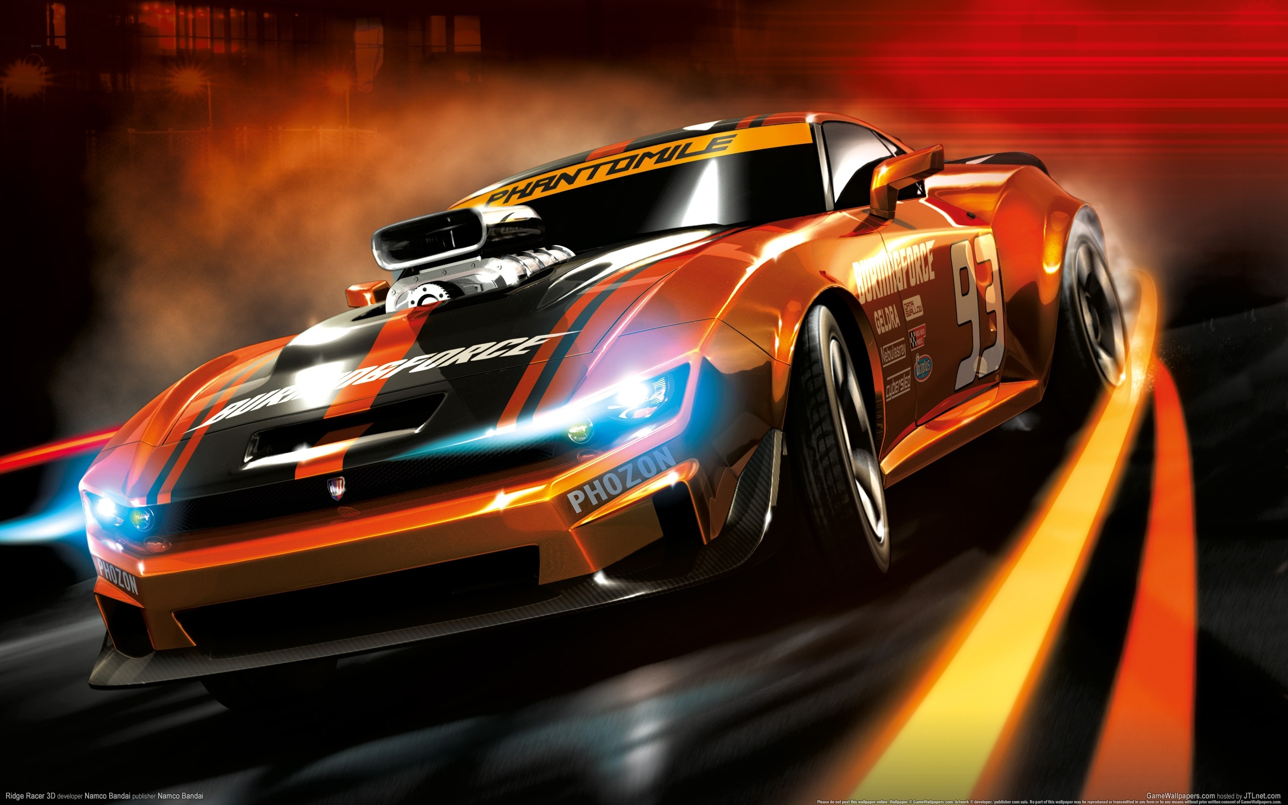 Wallpaper Ridge Racer 3d Hd 2560x1600 Hd Picture Image