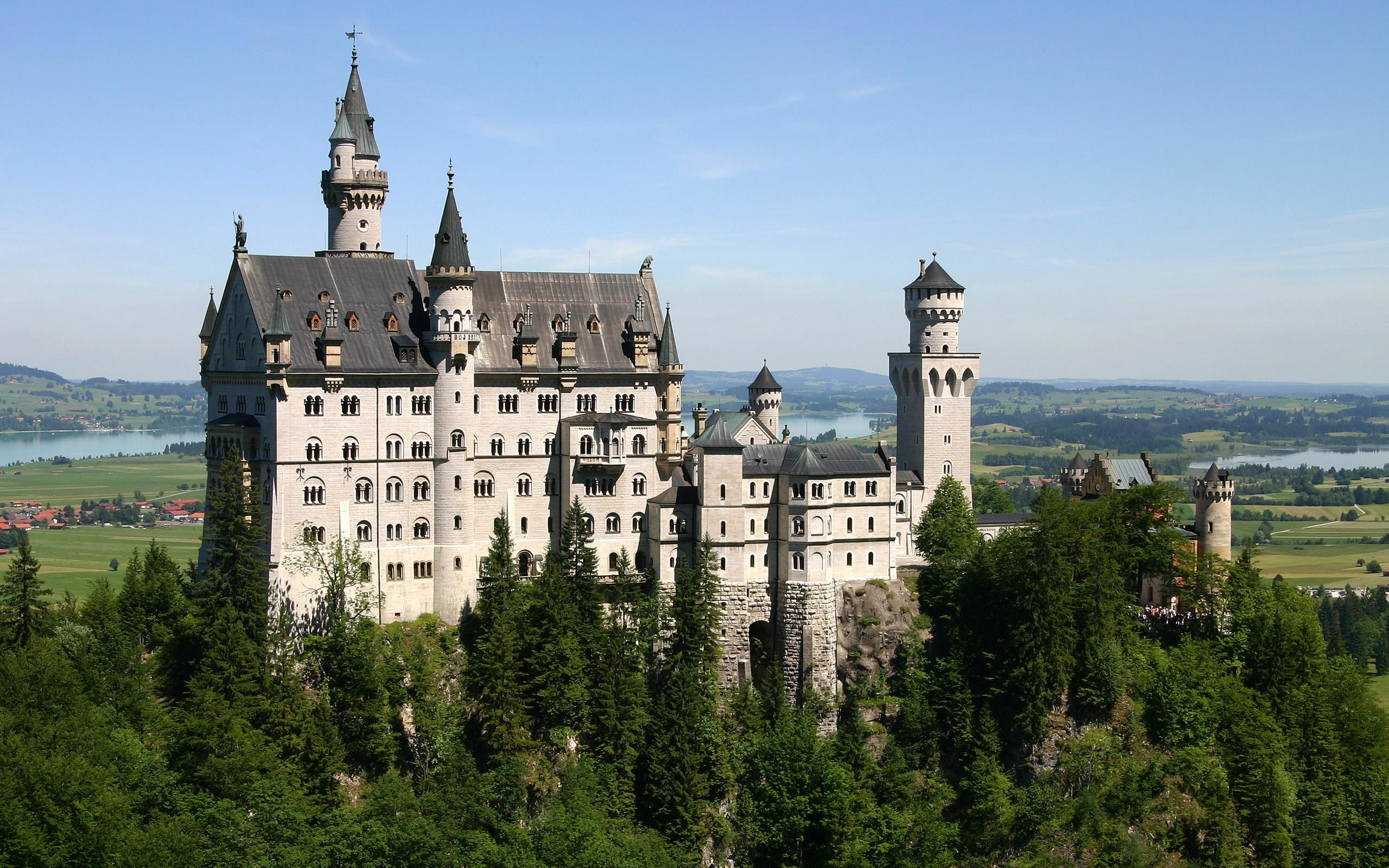 美丽的城堡 2560x1600图片