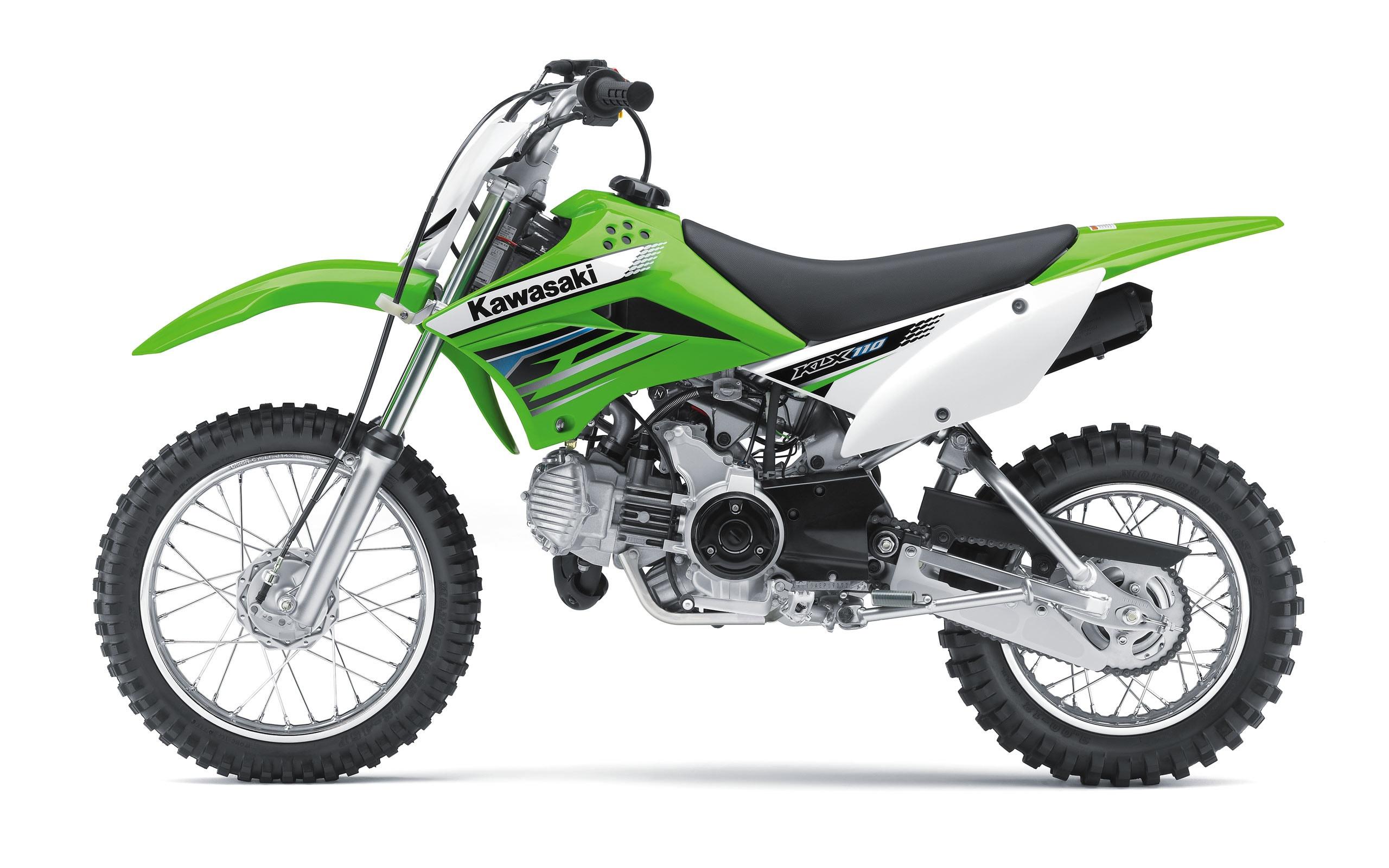 Wallpaper Kawasaki Motocross KLX110 2012 2560x1600 HD Picture Image