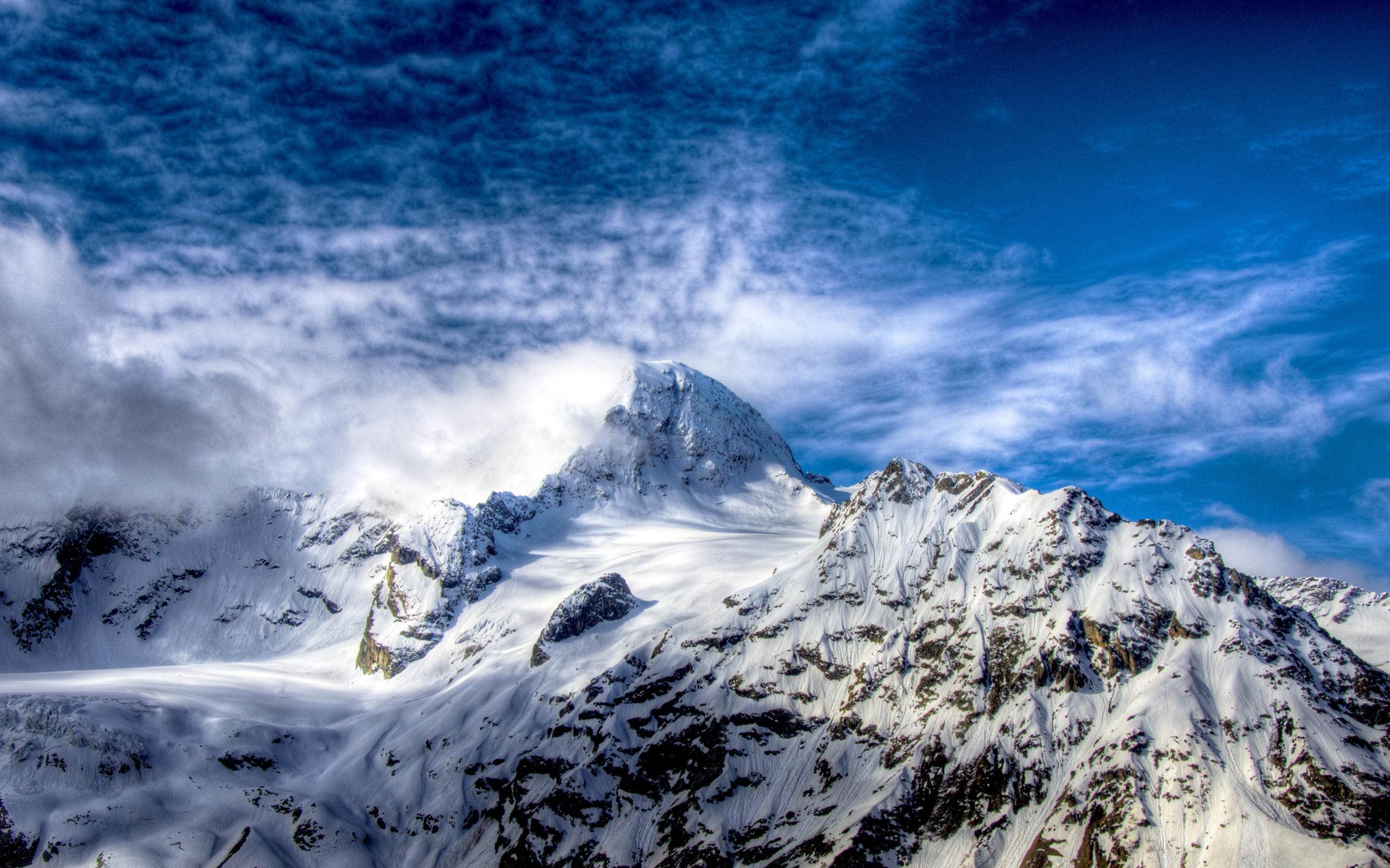 Schöne schneebedeckte Berge Hintergrundbilder   2560x1600 ... Snow