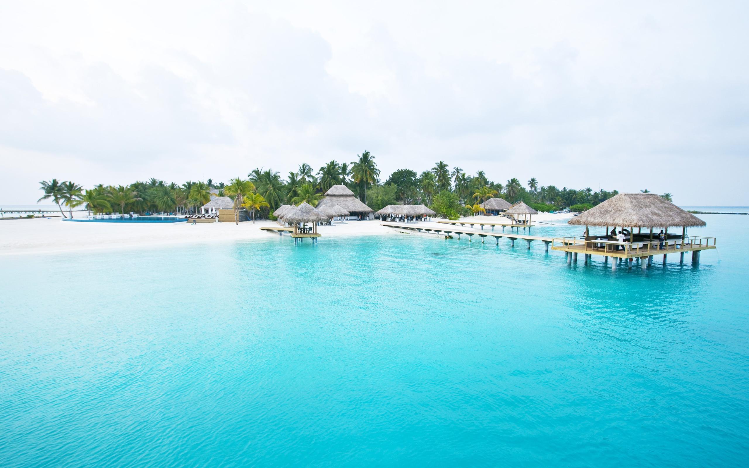 Schöne Malediven Seychellen Inseln HD 2560x1600 HD