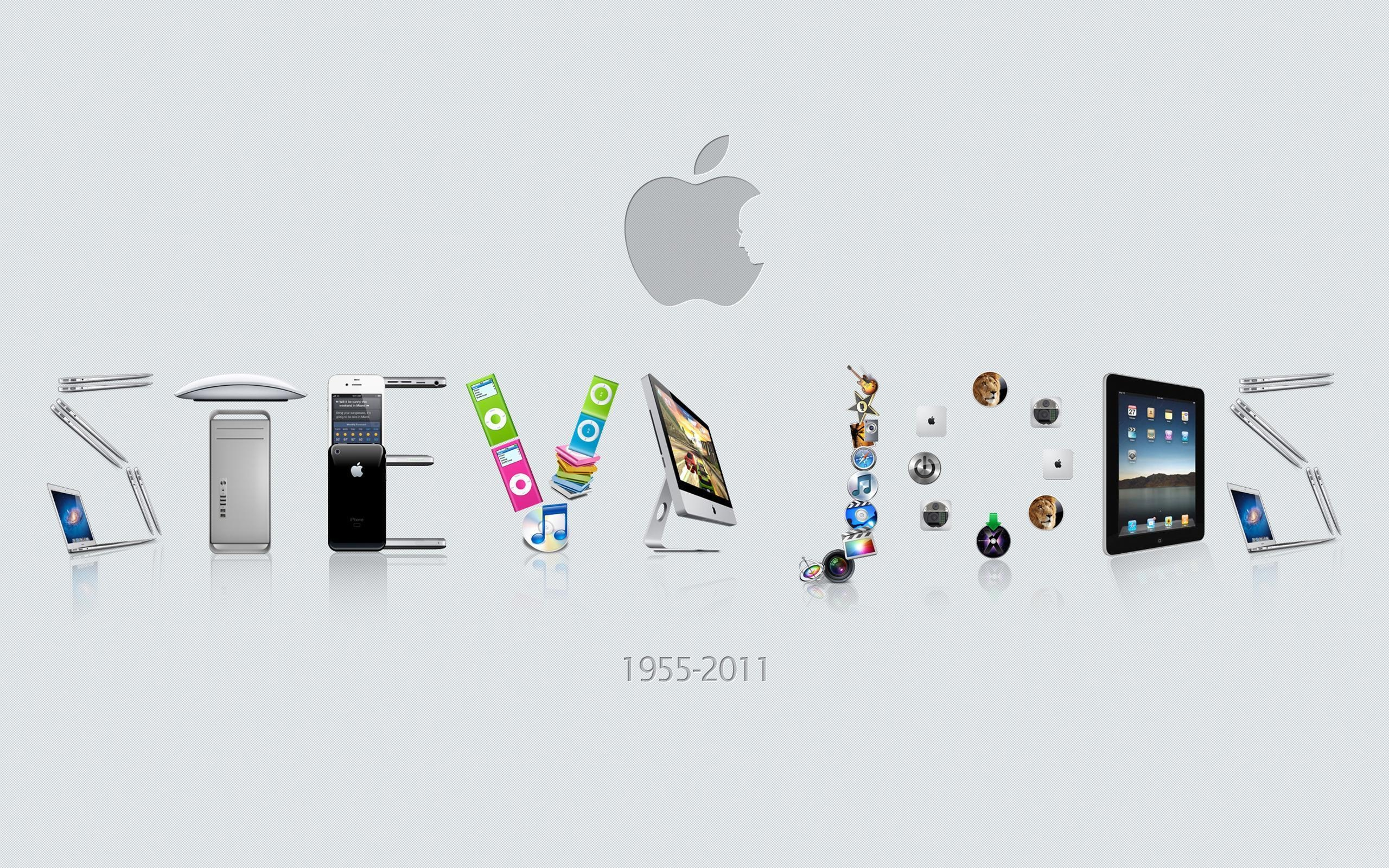 壁紙 スティーブ ジョブズアップル 2560x1600 Hd 無料のデスクトップの