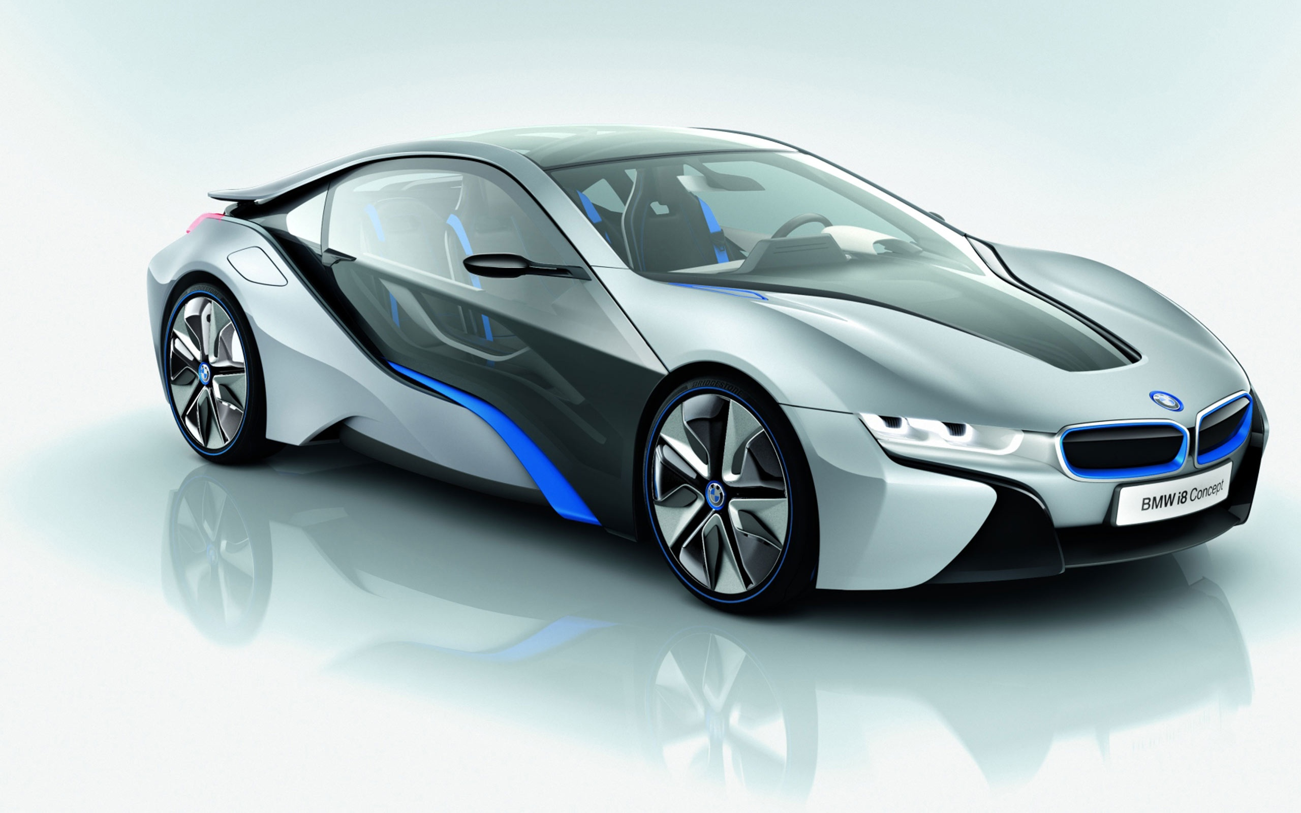 Wallpaper Bmw I8 Concept Car 2560x1600 Hd Picture Image