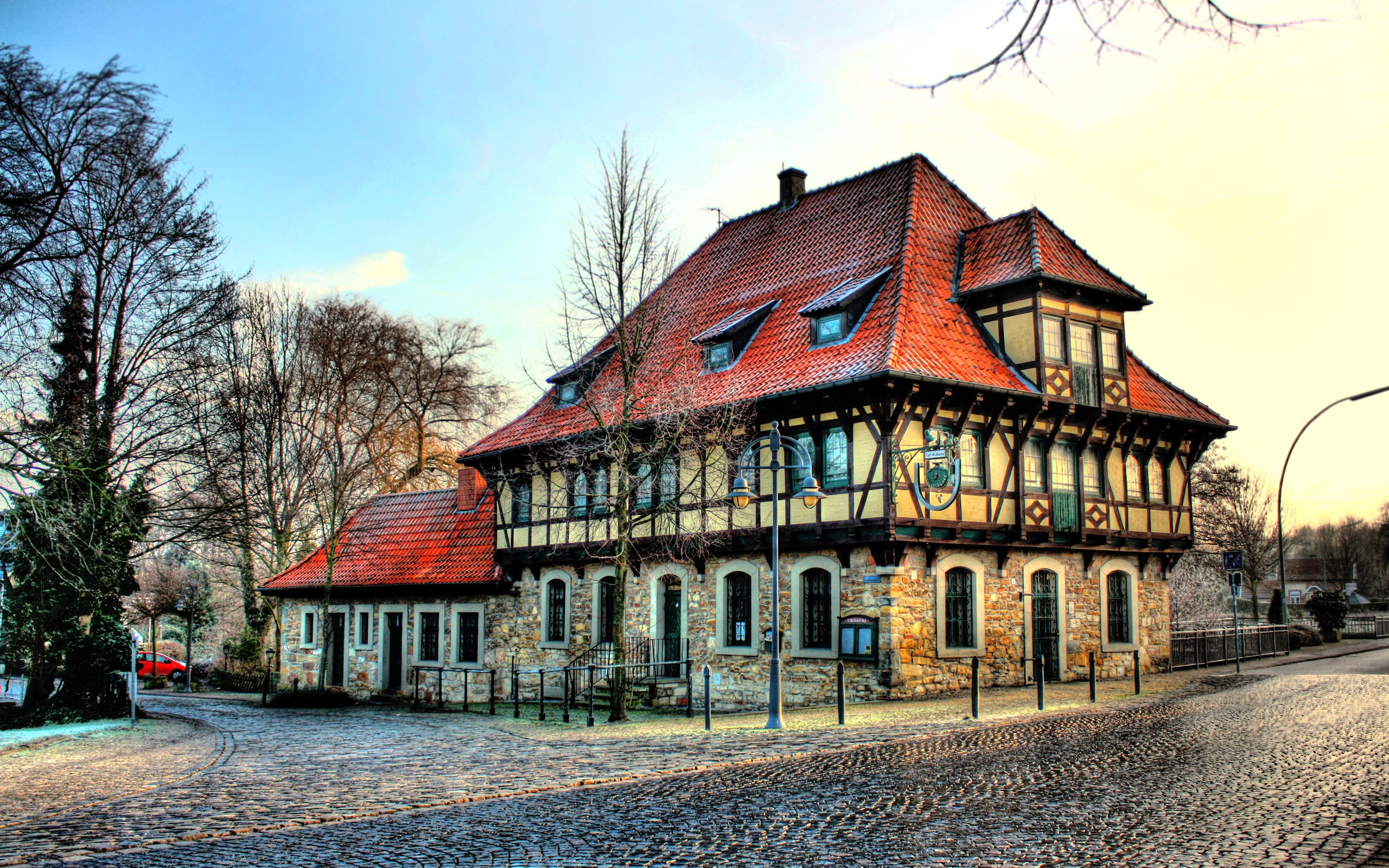2560x1600 steinfurt hd for Small houses in germany