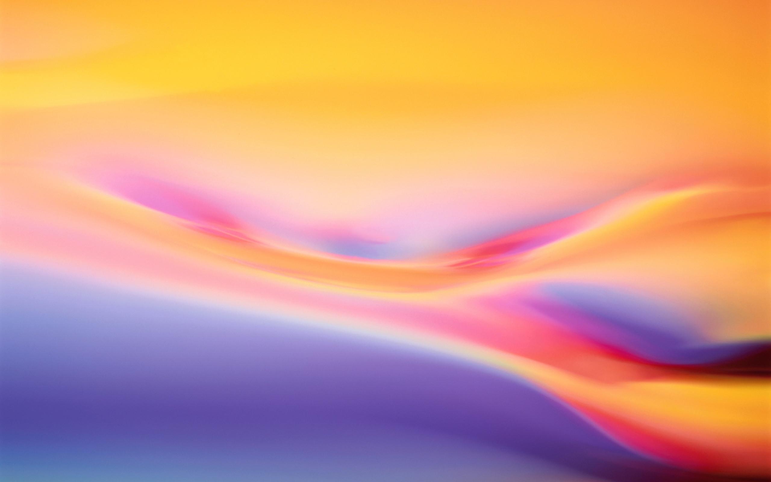 Abstract Background, Die Warmen Farben Der Kurve 2560x1600