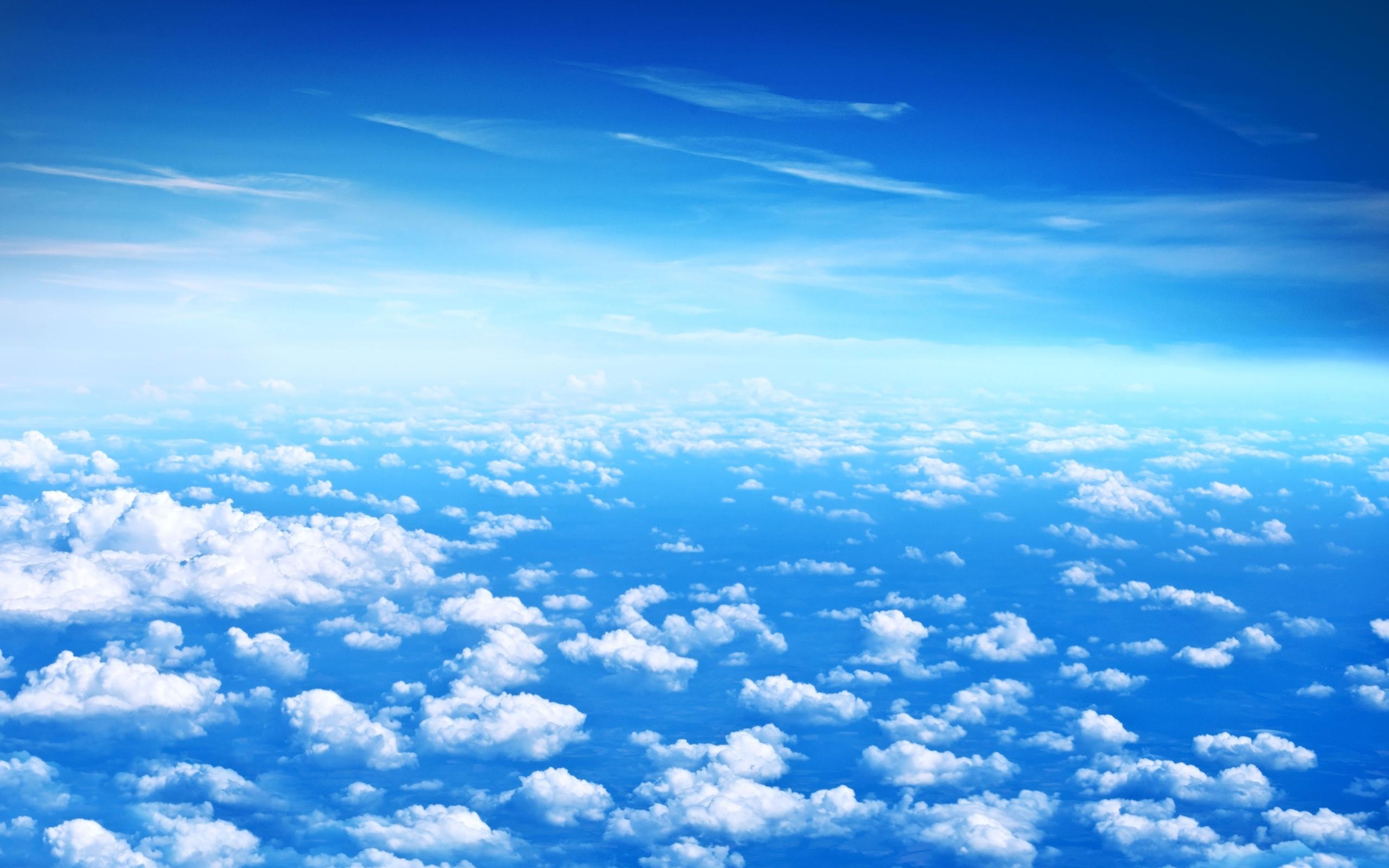 Blauer Himmel Wallpaper Schöne Wolken Blauer Himmel
