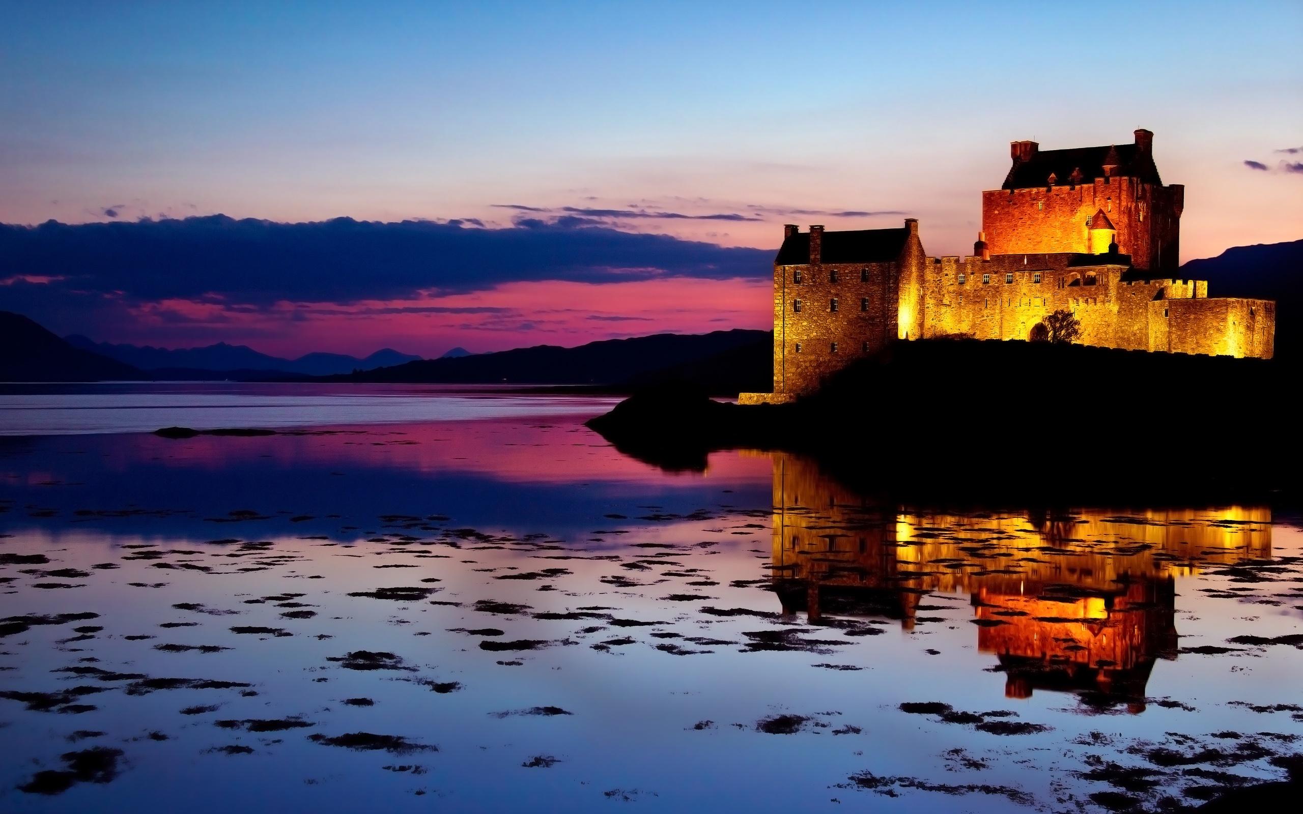 замок на воде  № 158467  скачать