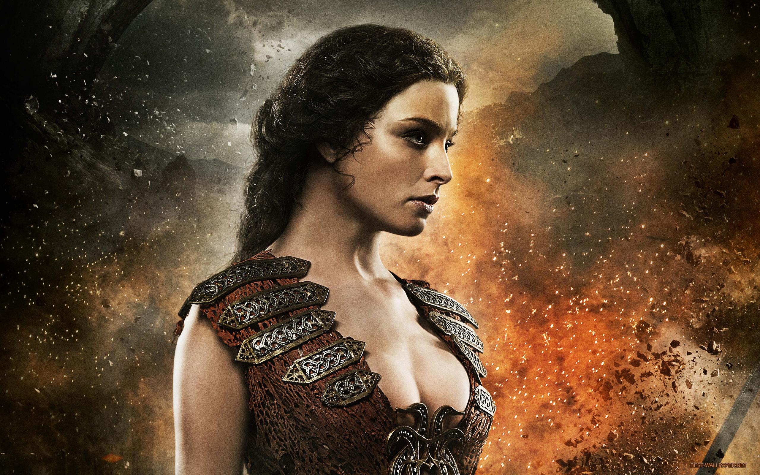 Wallpaper Rachel Nichols In Conan The Barbarian 2560x1600 Hd