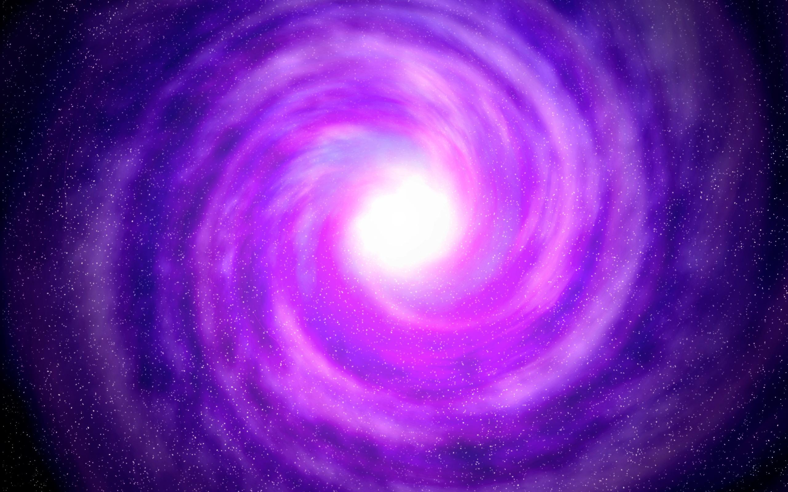Fonds D Ecran Violet L Espace Trou Noir Etoiles 2560x1600
