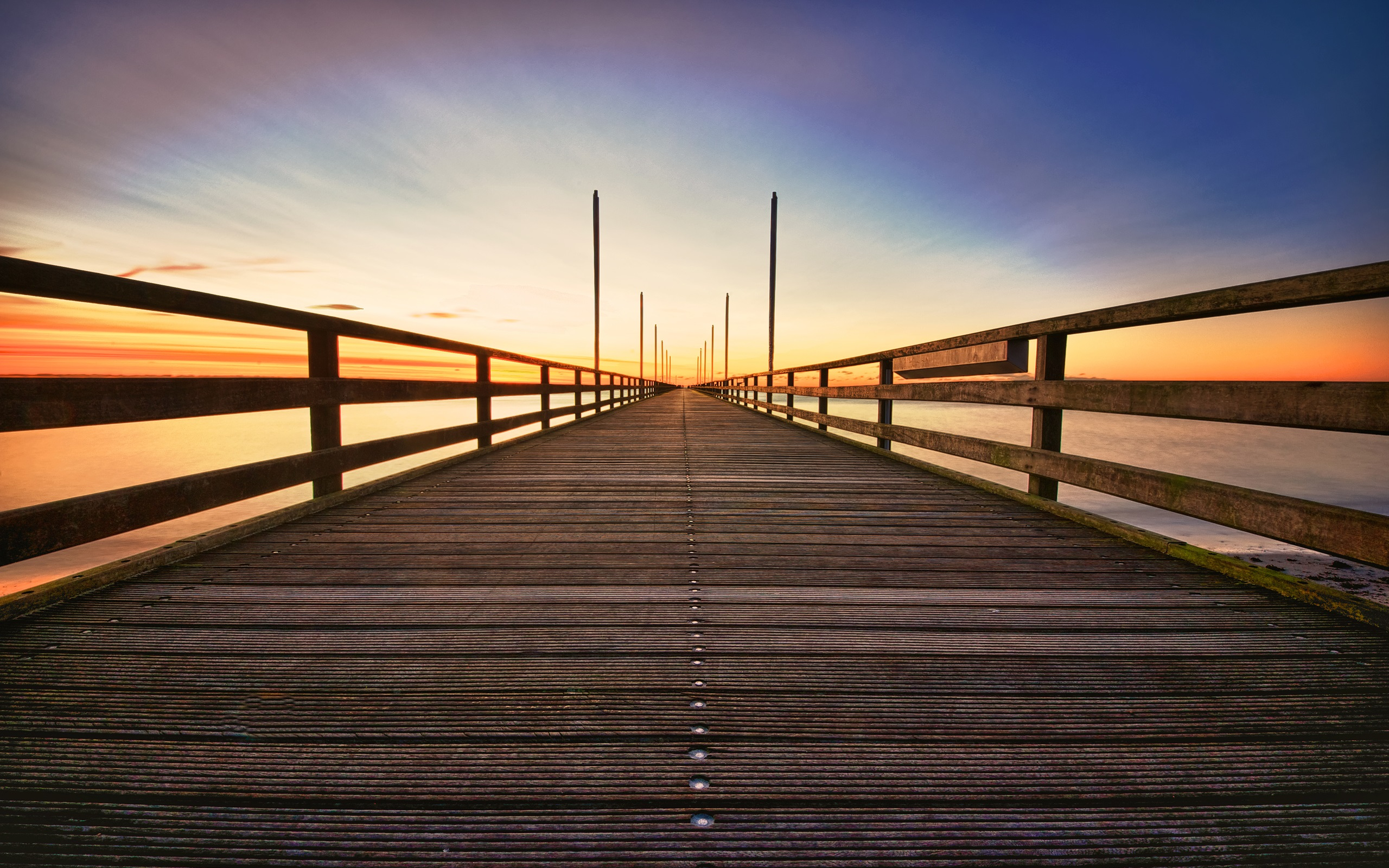 wooden bridge wallpaper - photo #11