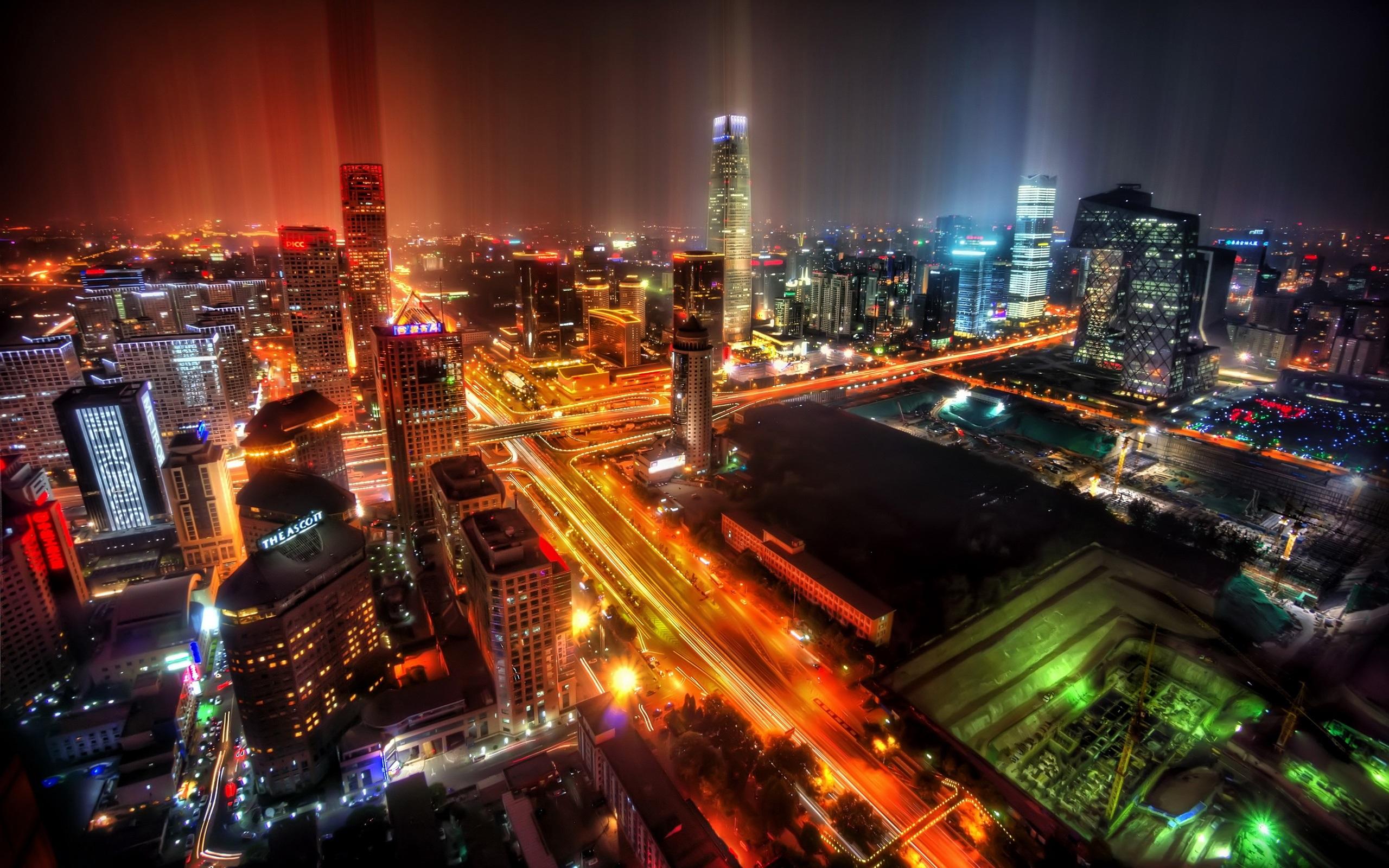 Обои beijing , пекин, ночной город, china, китай. Города foto 9