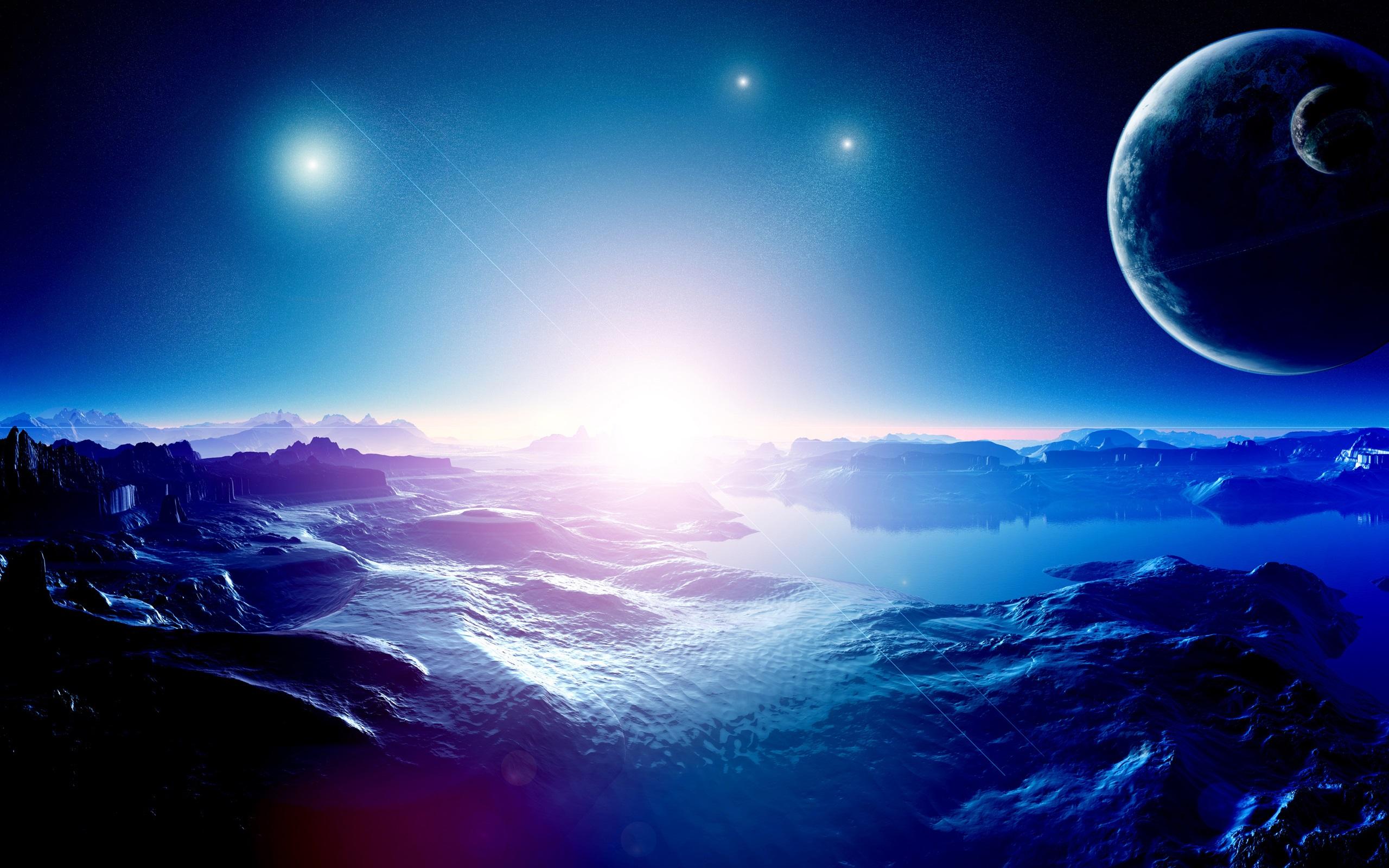 惑星、山、地形�...
