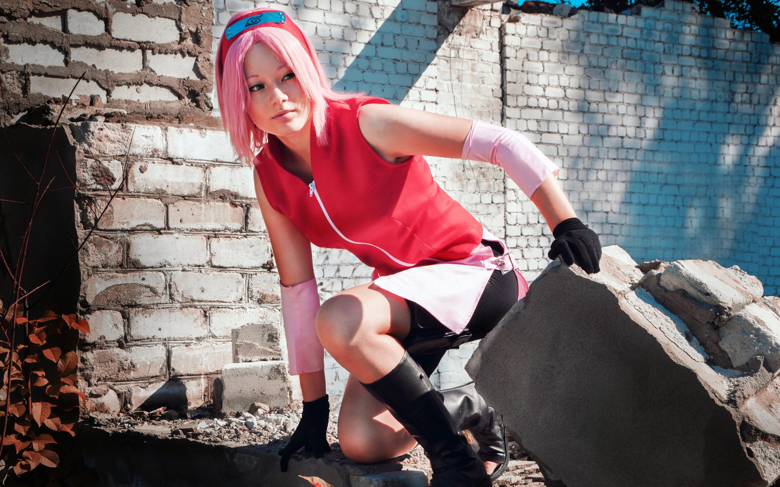 Cosplay Pubg Girl Hd Wallpaper: 배경 화면 코스프레 소녀, 나루토 2560x1600 HD 그림, 이미지