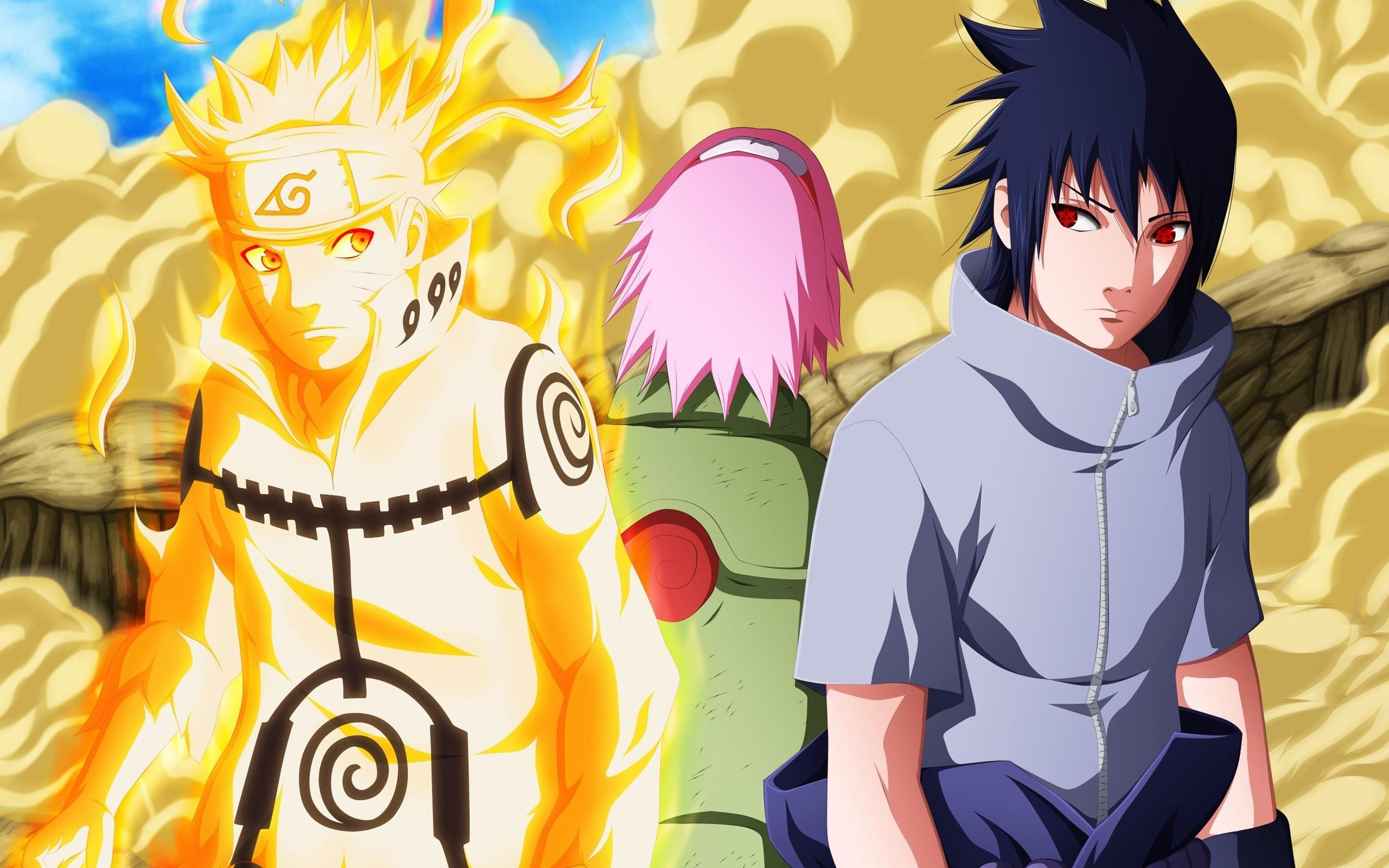 Fonds D Ecran Naruto Deux Garcons 2560x1600 Hd Image