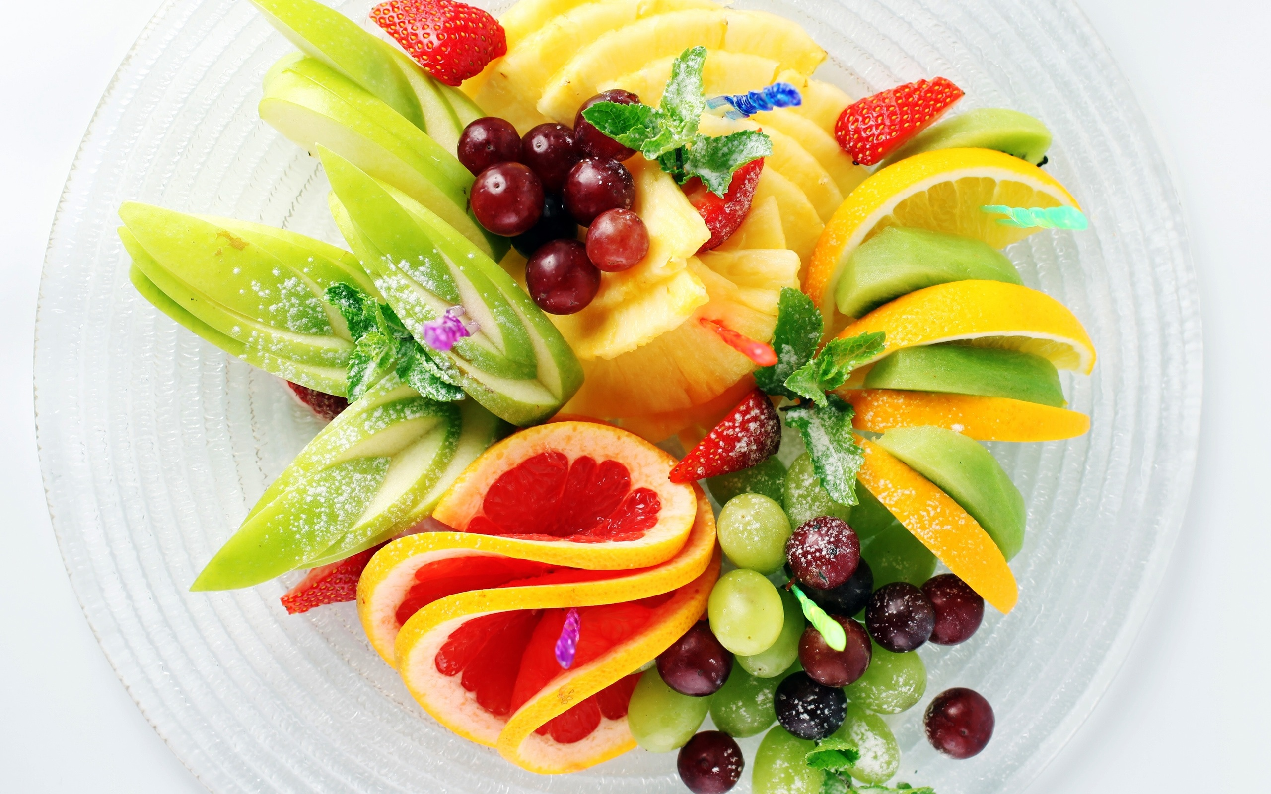 mixed berry and banana fruit salad beautiful cakes with strawberry