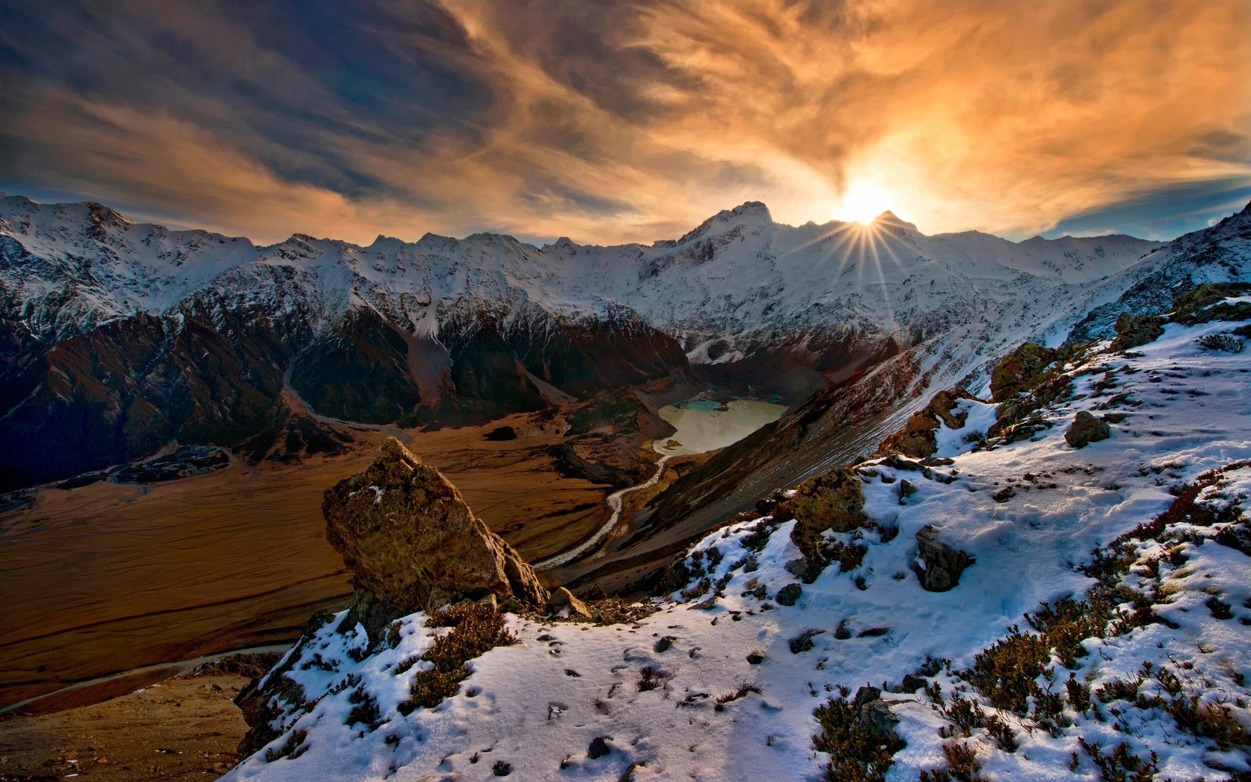 16 Luxury Pubg Wallpaper Iphone 6: 壁紙 山、雪、日の出 2560x1600 HD 無料のデスクトップの背景, 画像