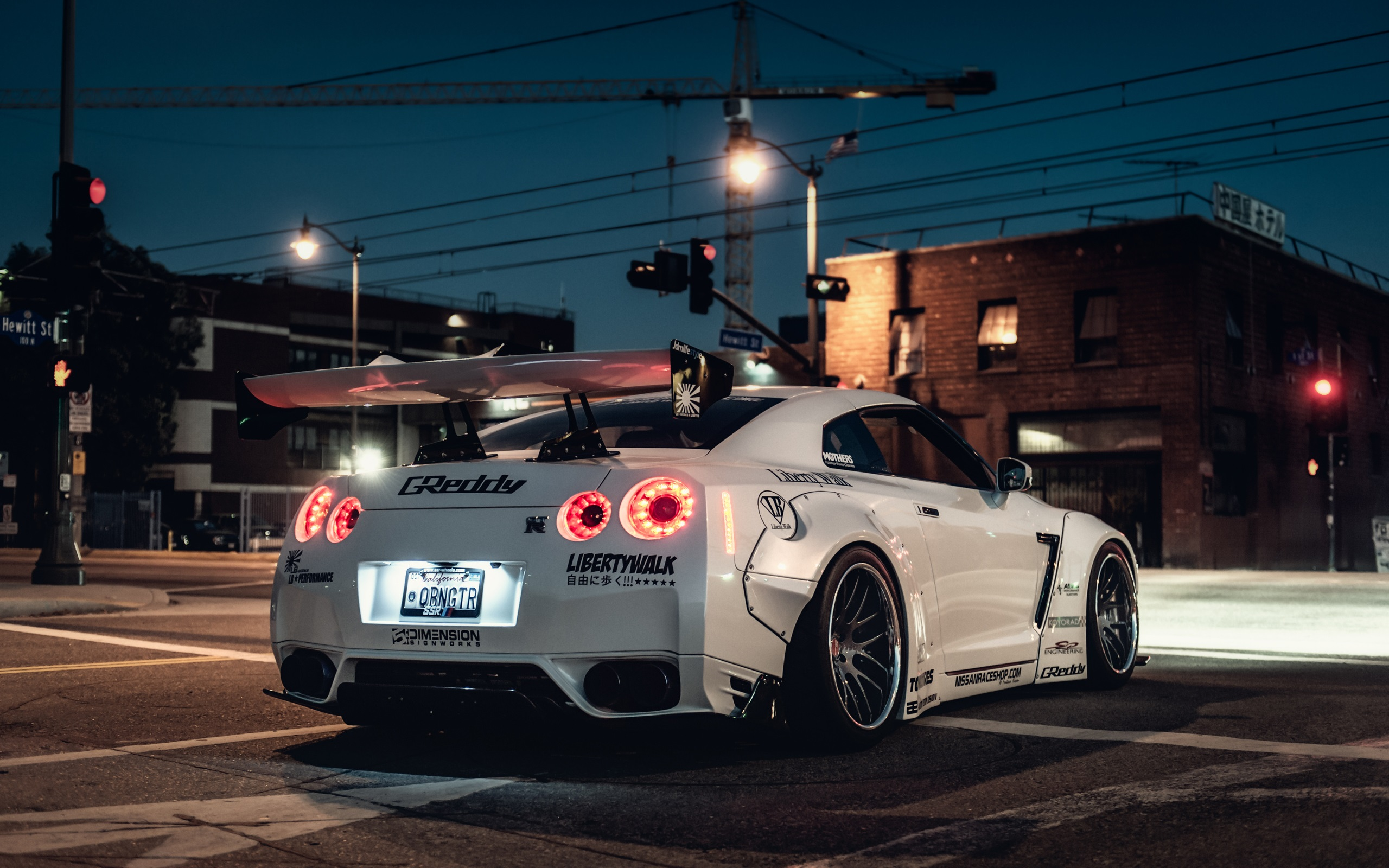 Nissan Gt R White Supercar Back View 750x1334 Iphone 8 7 6 6s